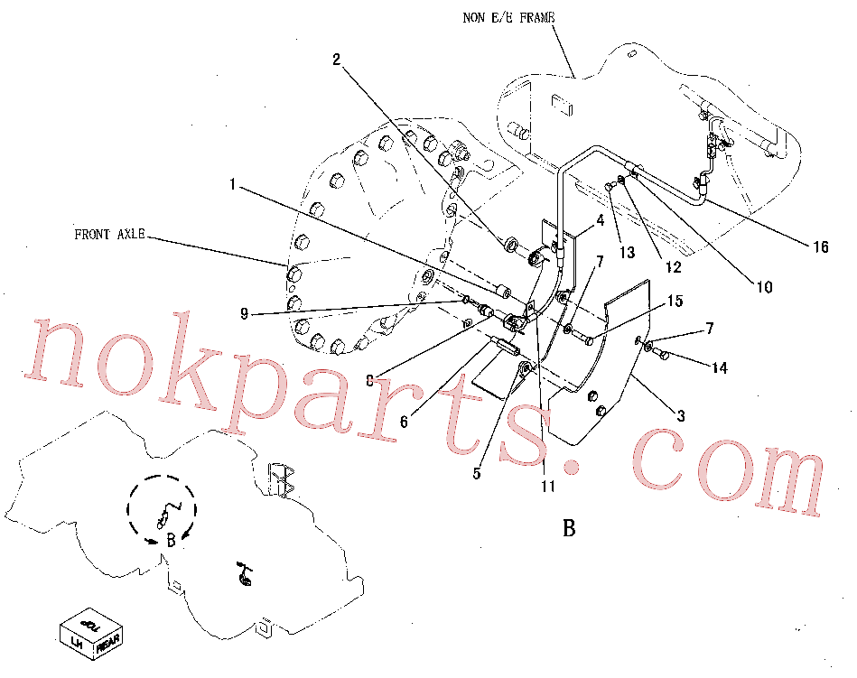 CAT 122-4026 for 972K Wheel Loader(WTL) electrical and starting system 249-9173 Assembly