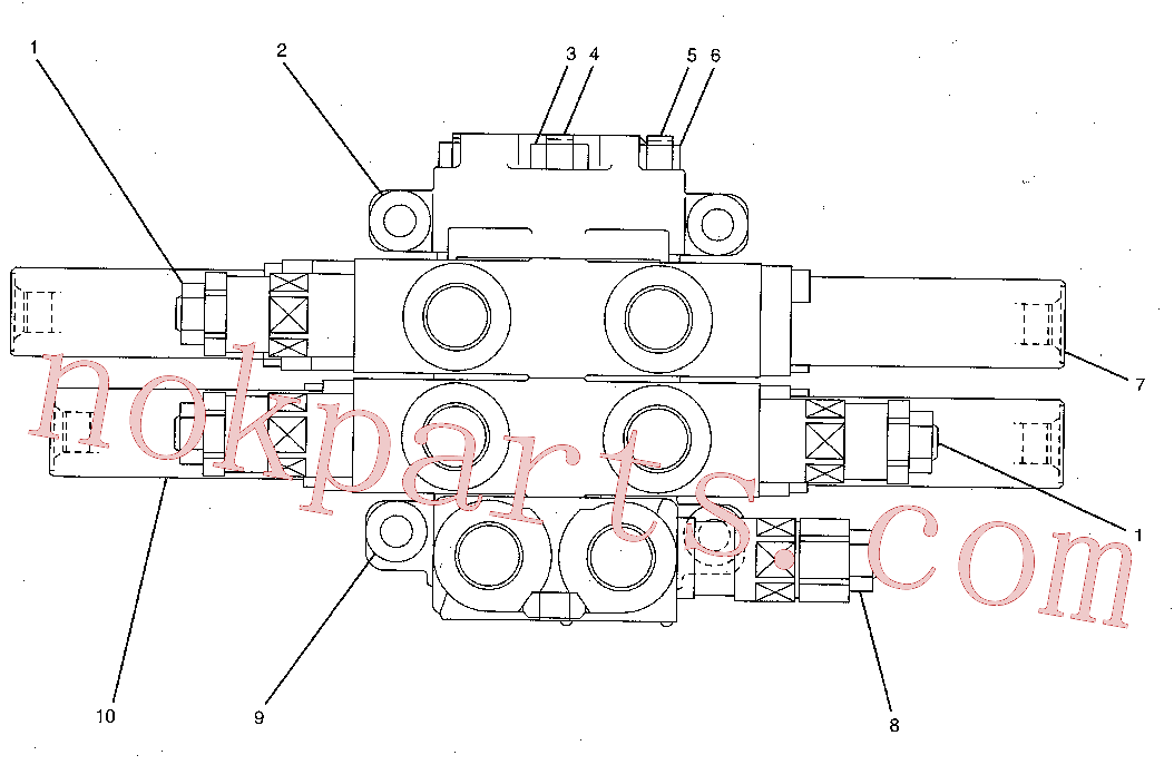 CAT 099-3990 for 349F L Excavator(EXC) hydraulic system 185-0506 Assembly