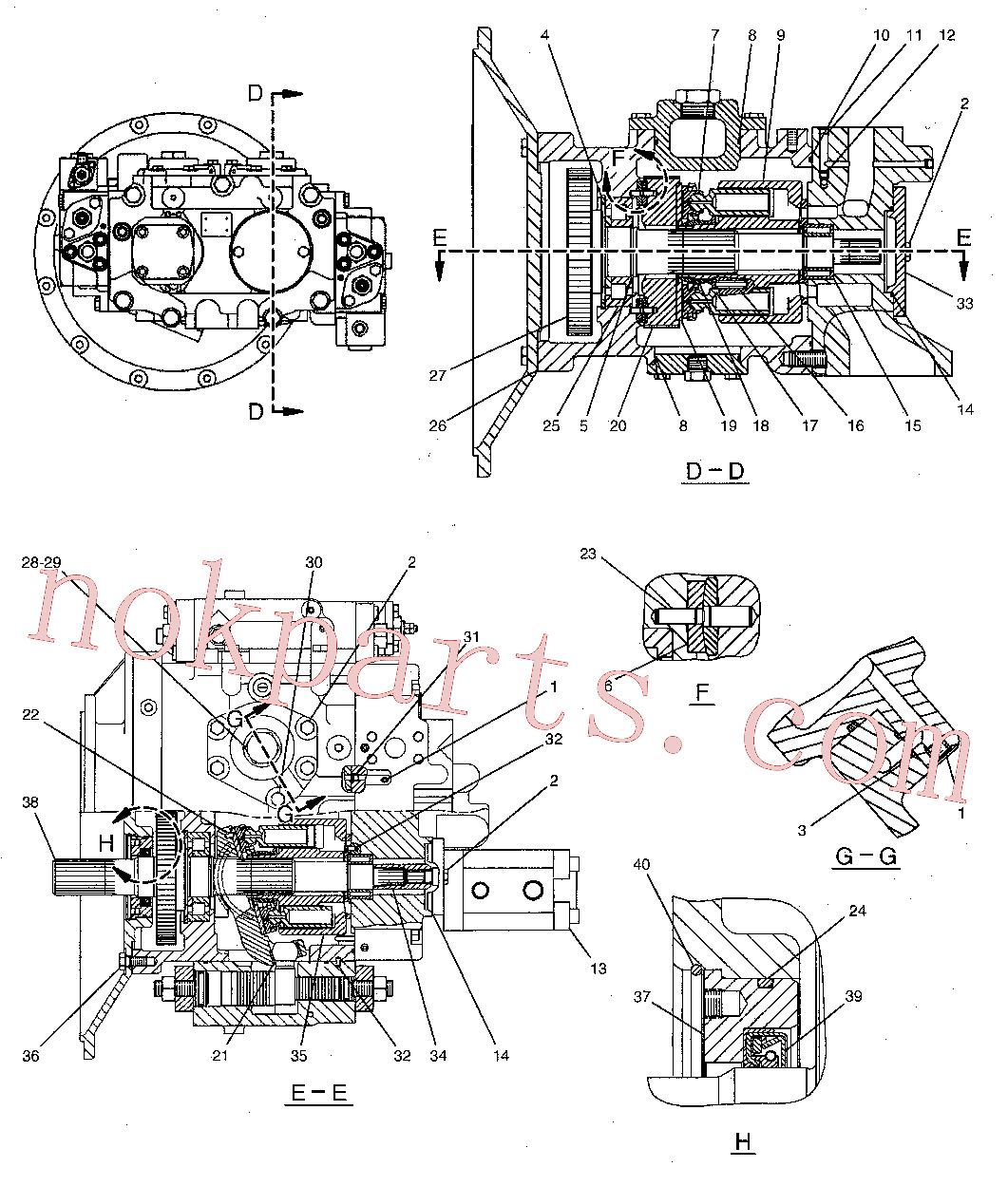 CAT 129-7979 for 329D2 L Excavator(EXC) hydraulic system 244-8477 Assembly