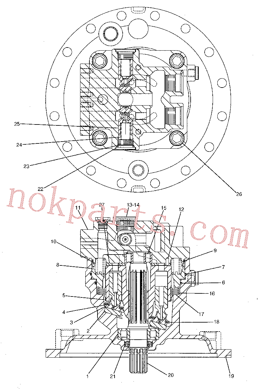 CAT 173-3440 for 319D LN Excavator(EXC) hydraulic system 191-5542 Assembly