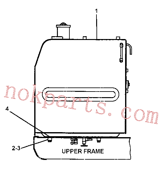 CAT 6I-6123 for 320B U Excavator(EXC) fuel system and governor 087-3672 Assembly