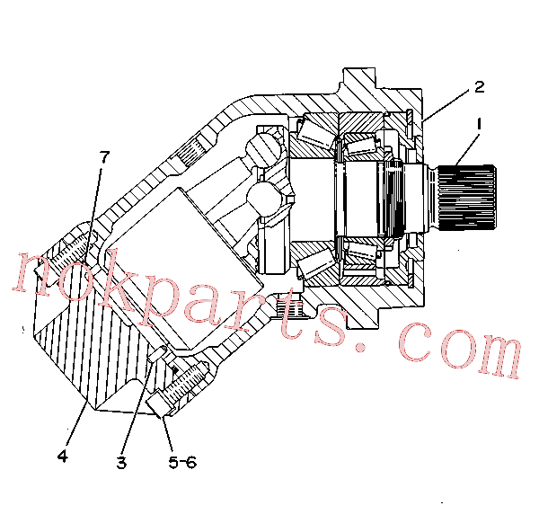 CAT 9T-1582 for 219 Excavator(EXC) hydraulic system 9T-1062 Assembly