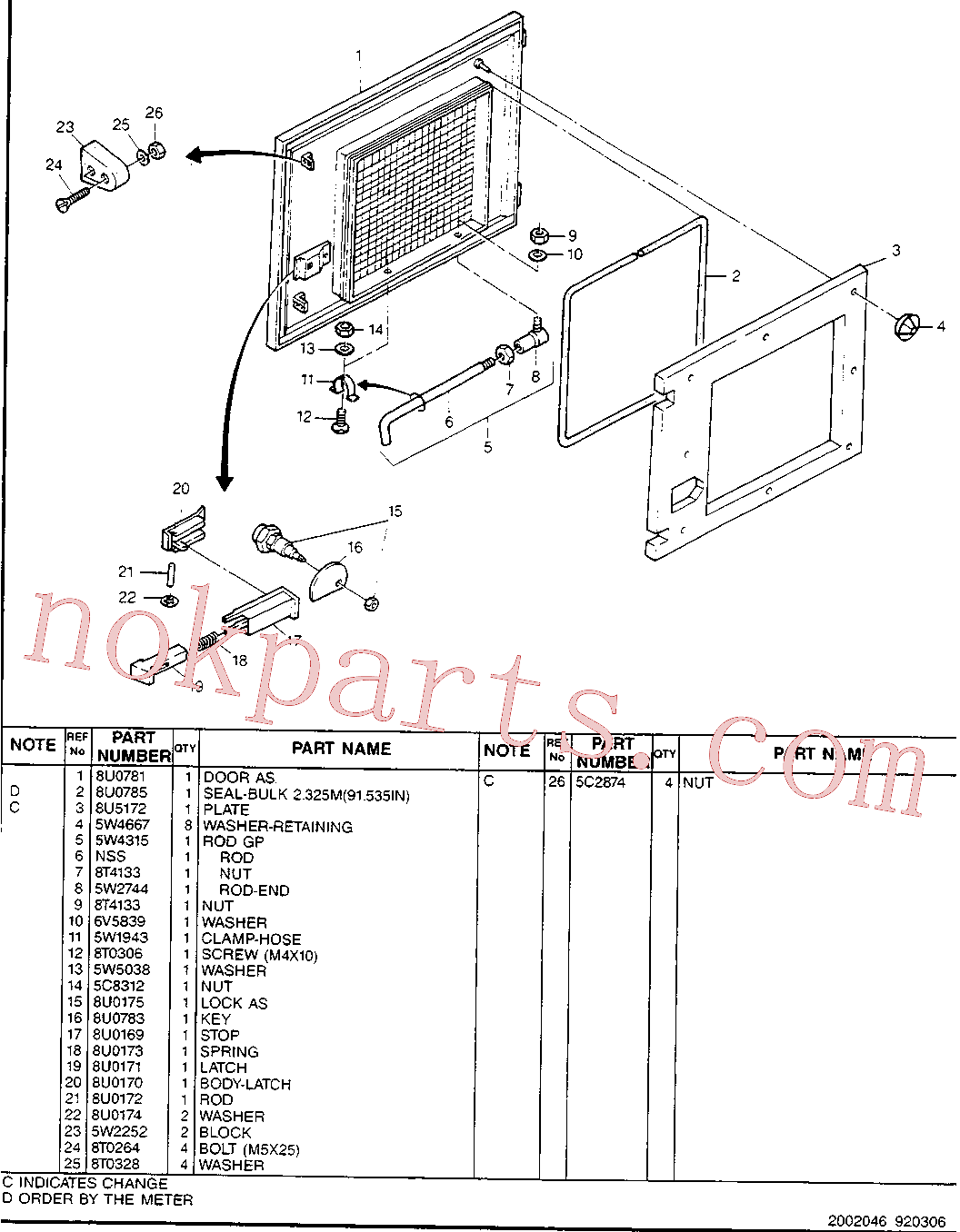CAT 5W-5038 for M318 Excavator(EXC) chassis & undercarriage 8U-5125 Assembly