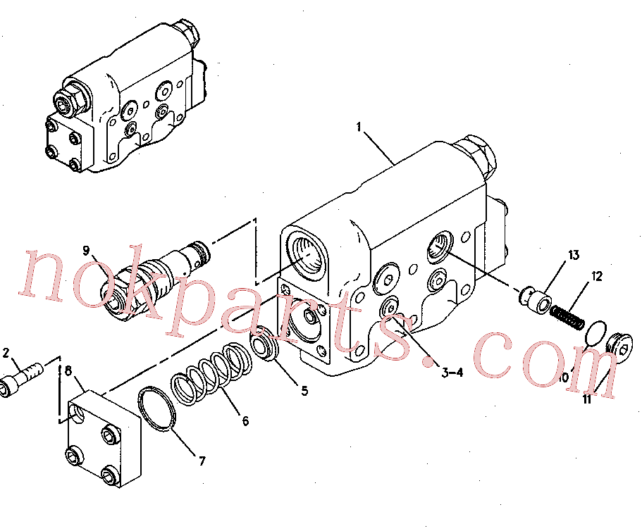 CAT 119-5360 for 325B Excavator(EXC) hydraulic system 137-3718 Assembly