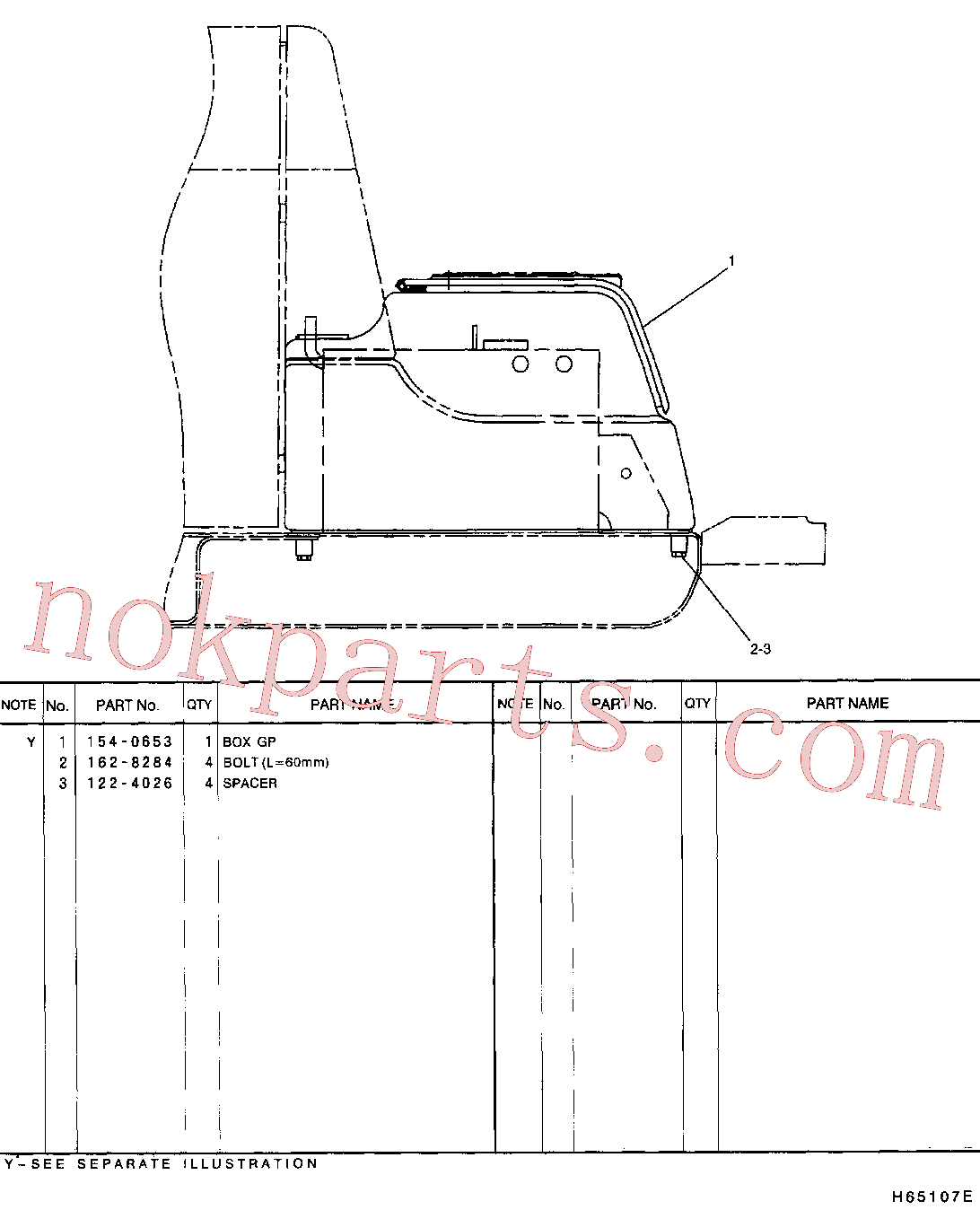 CAT 122-4026 for 312B Excavator(EXC) frame and body 121-9101 Assembly