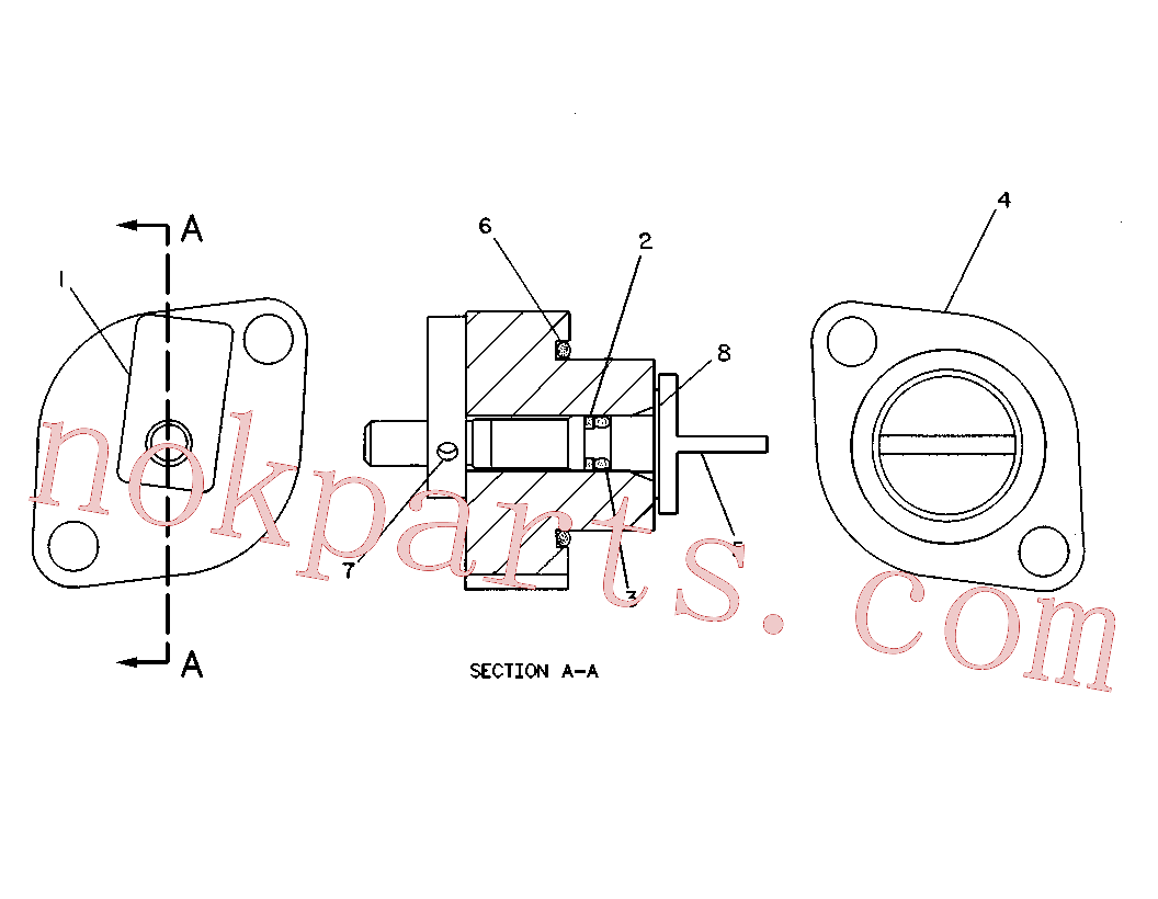 CAT 9T-5241 for 797F Truck(OHT) hydraulic system 9T-5238 Assembly