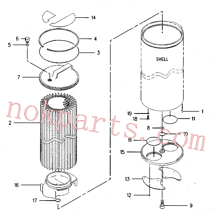 CAT 137-3810 for 330B Excavator(EXC) hydraulic system 126-2080 Assembly