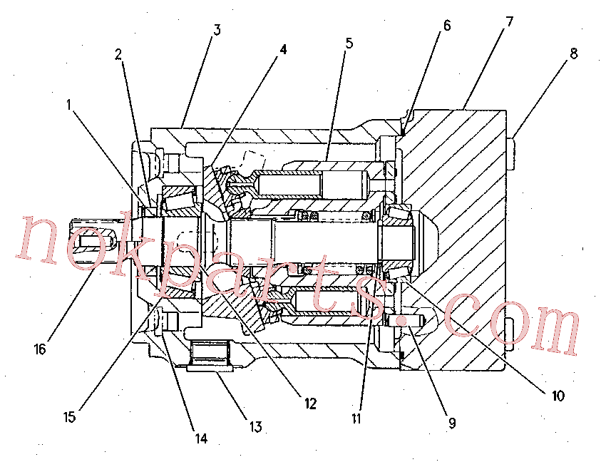 CAT 099-3047 for 345B II Excavator(EXC) hydraulic system 155-9107 Assembly