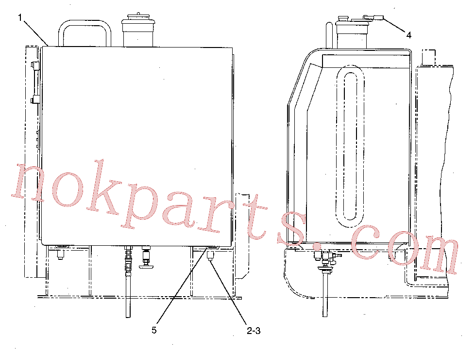 CAT 6I-6123 for 325D FM LL Excavator(EXC) fuel system 151-9788 Assembly