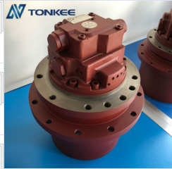 excavator MM55SR-H 304CRS CMS304,5, SCMS 305CR TM06 GM06VA Hydraulic travel motor with gearbox for Kobelco IHI Mitsubishi