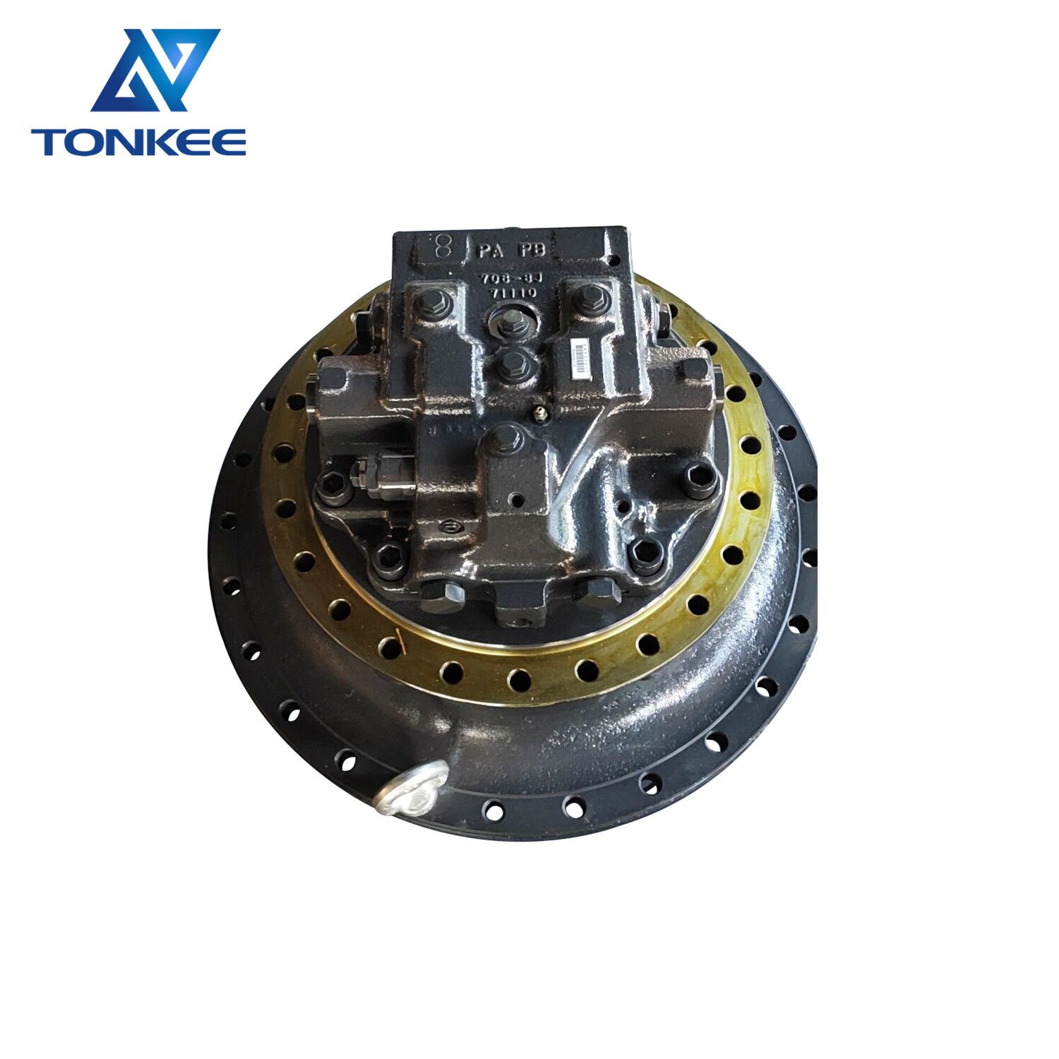 new PC400-7 PC400-8 excavator final drive assembly 208-27-00243 208-27-00281 208-27-00280 208-27-00250 706-8J-01020 travel motor assy suitable for KOMATSU
