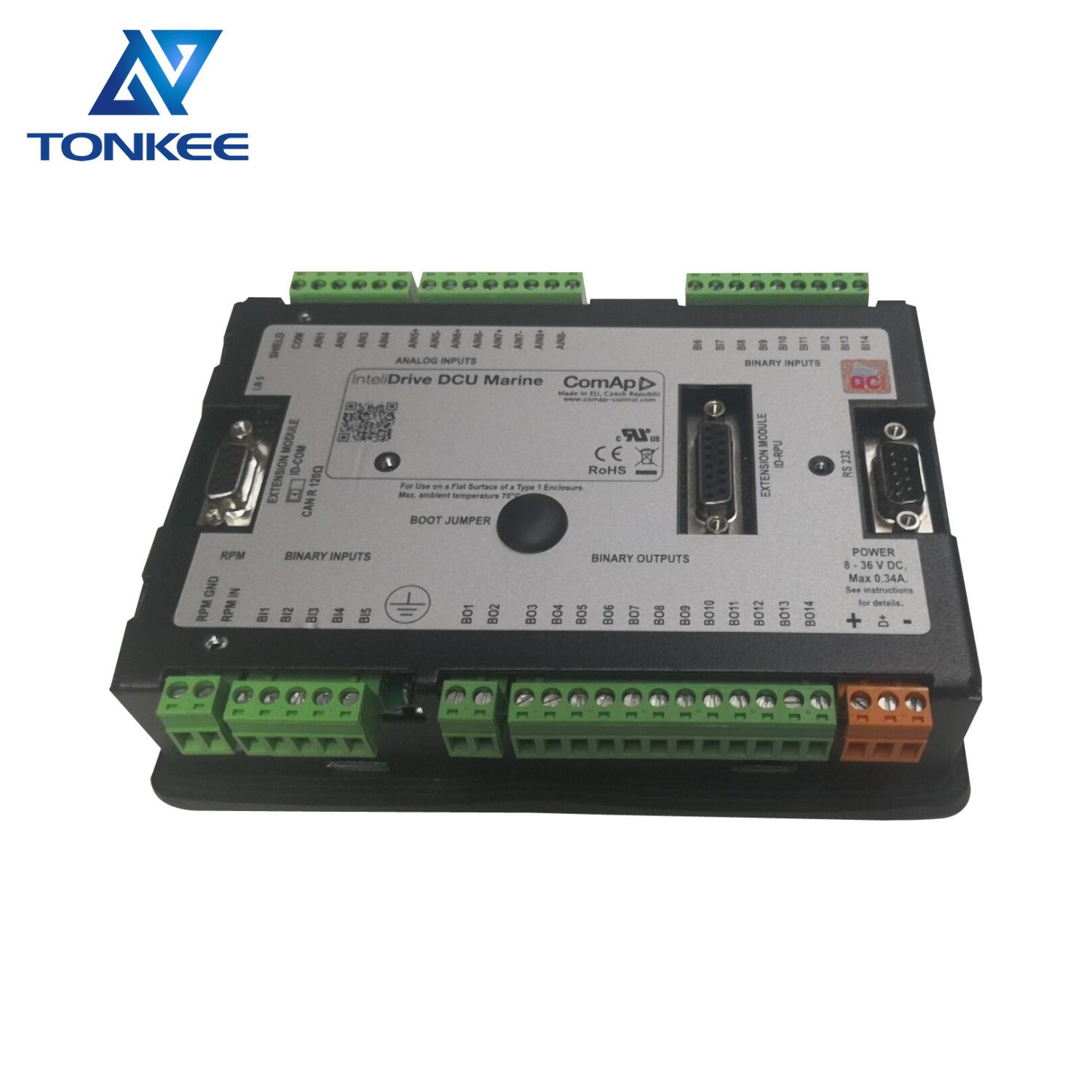 D13B-E D16C-D D9A D12D control unit 3818237 3818237P04 ID-MCU monitor control unit diesel engine suitable for VOLVO excavation