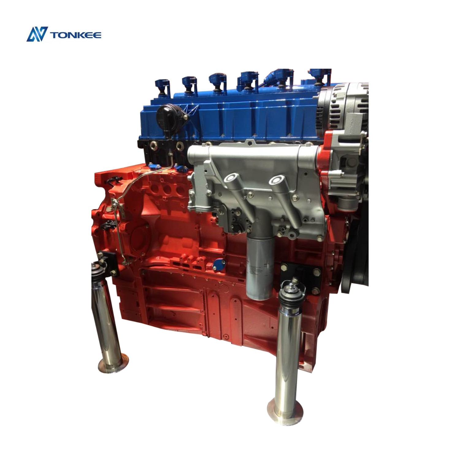 New domestic 350D 300D excavator engine assy D8K excavator engine assy  Volvo excavator engine assy for excavator