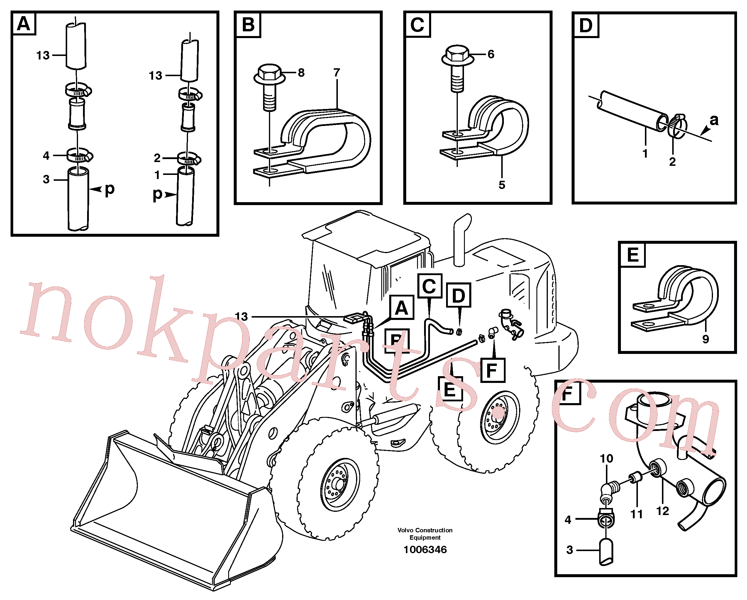 VOE13946441 for Volvo Heating system(1006346 assembly)