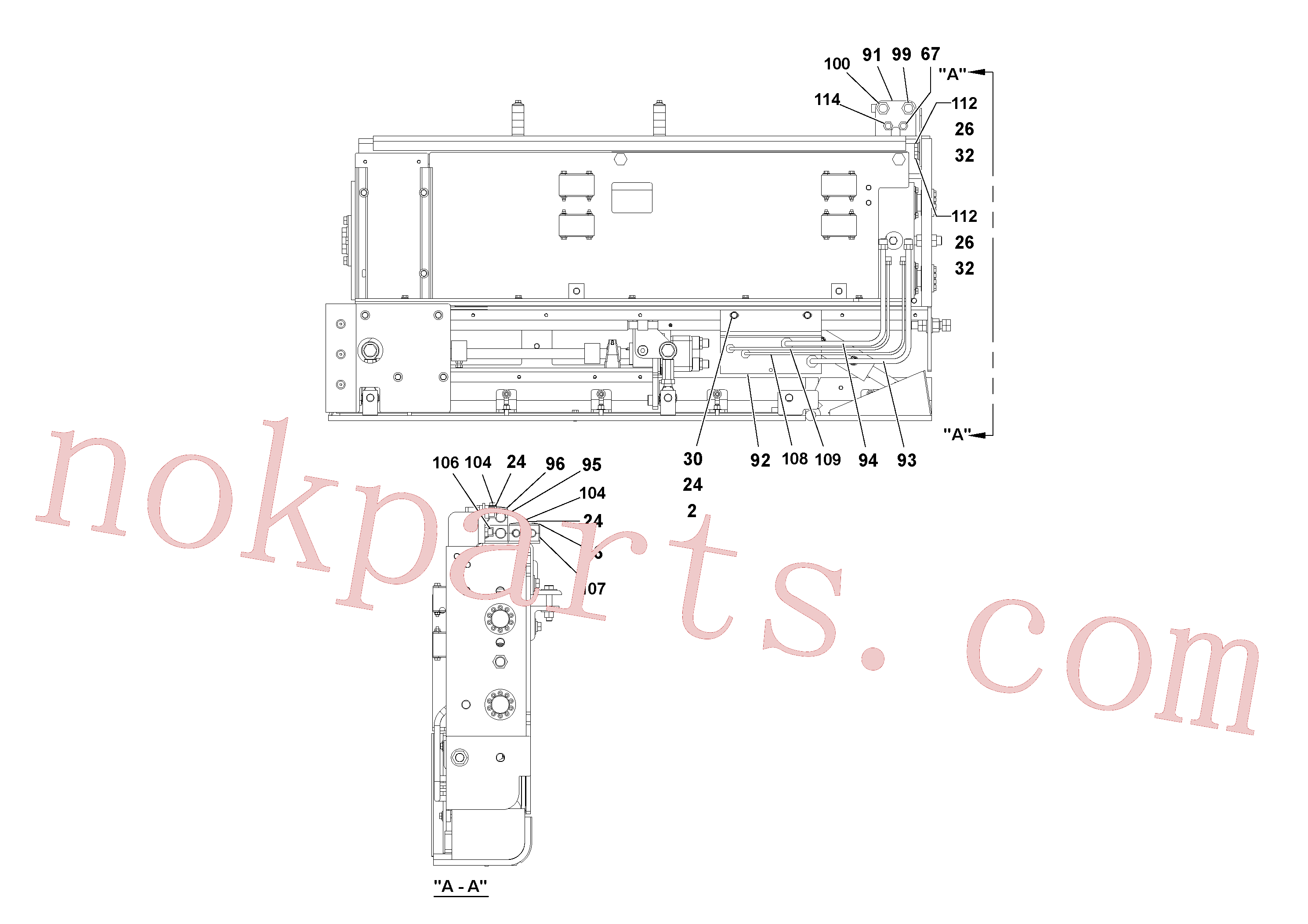 RM20313870 for Volvo 5' Extension Assembly(1036974 assembly)