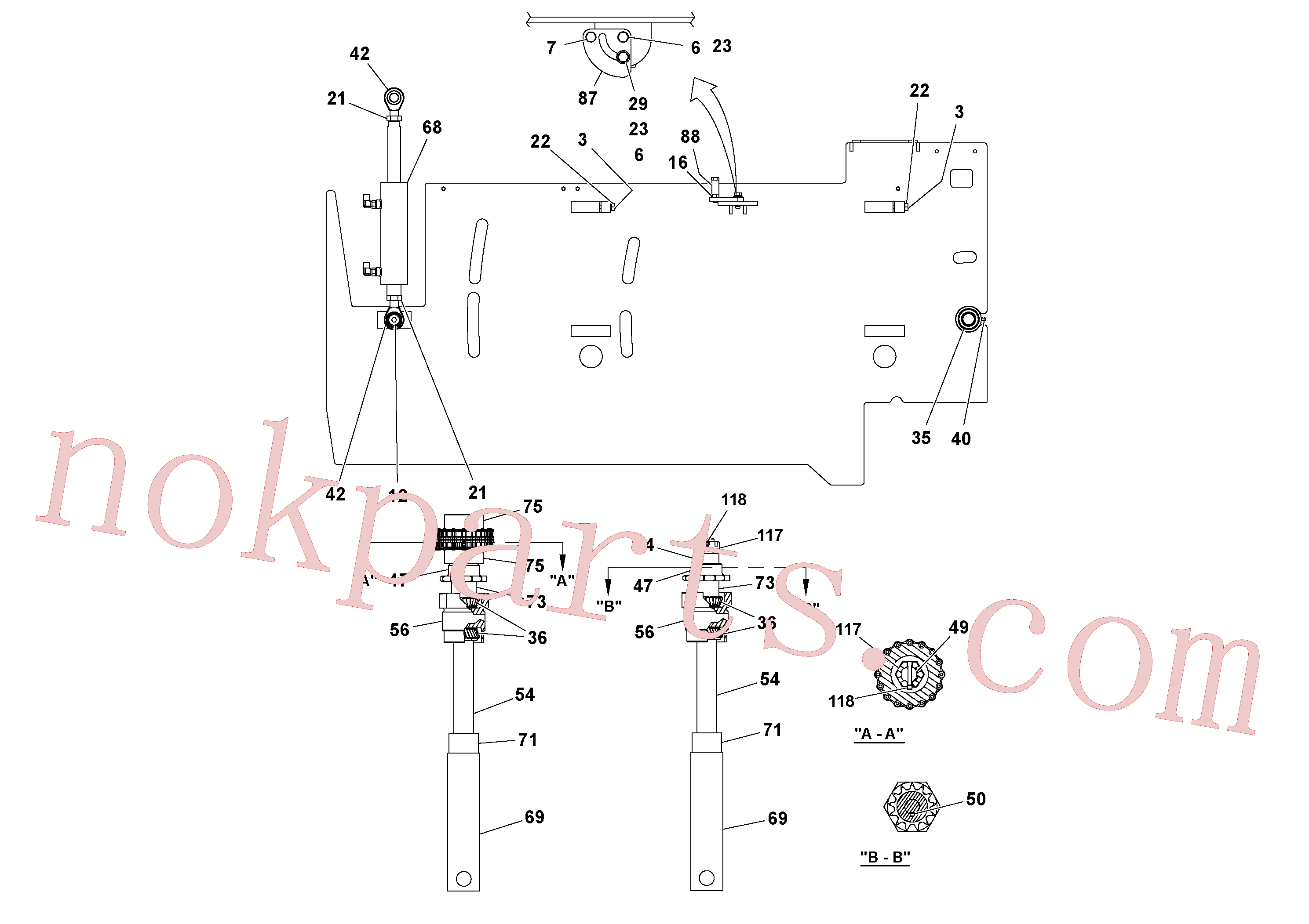 RM20313136 for Volvo 5' Extension Assembly(1036982 assembly)