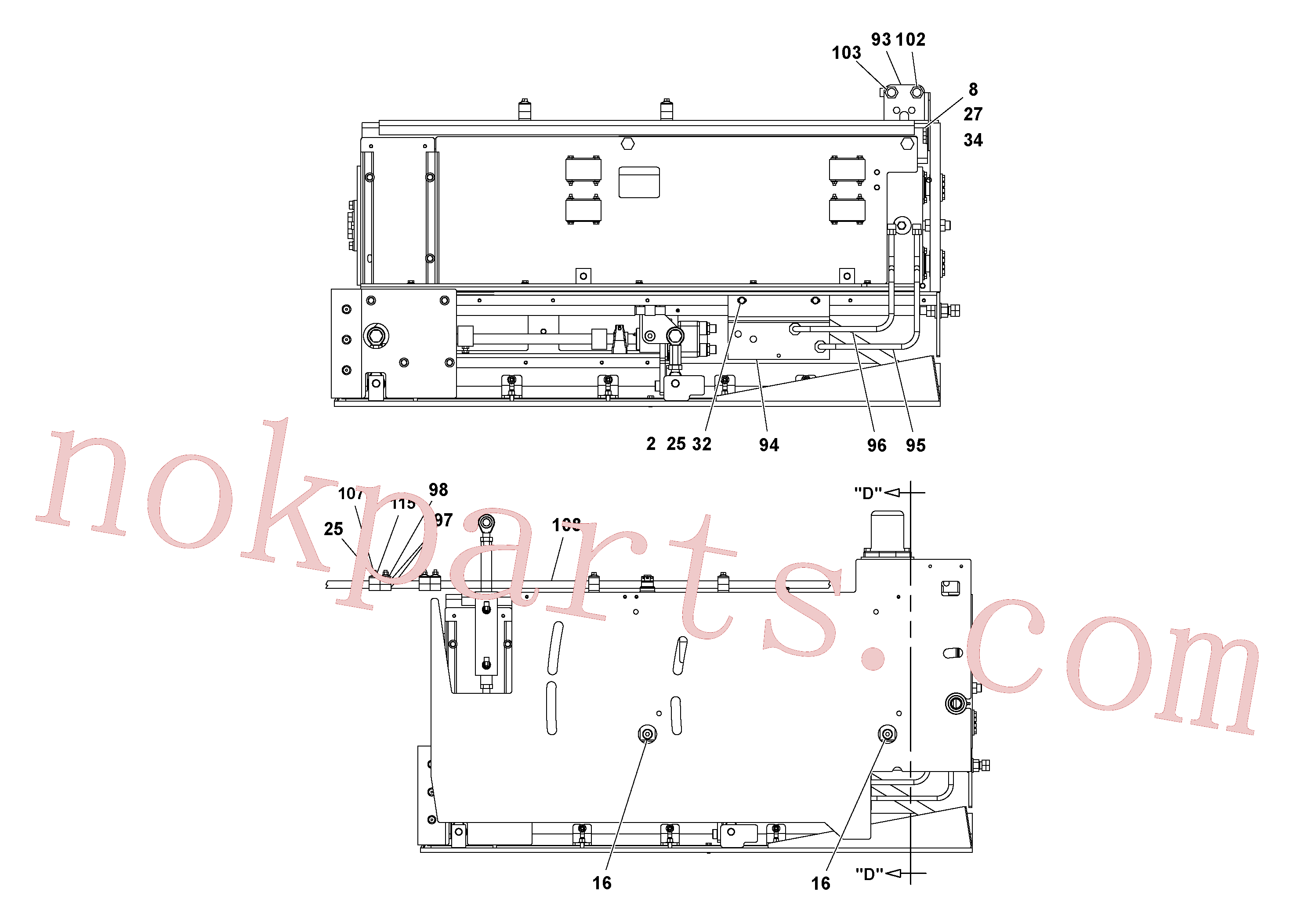 RM95929782 for Volvo 5' Extension Asssembly(1037003 assembly)