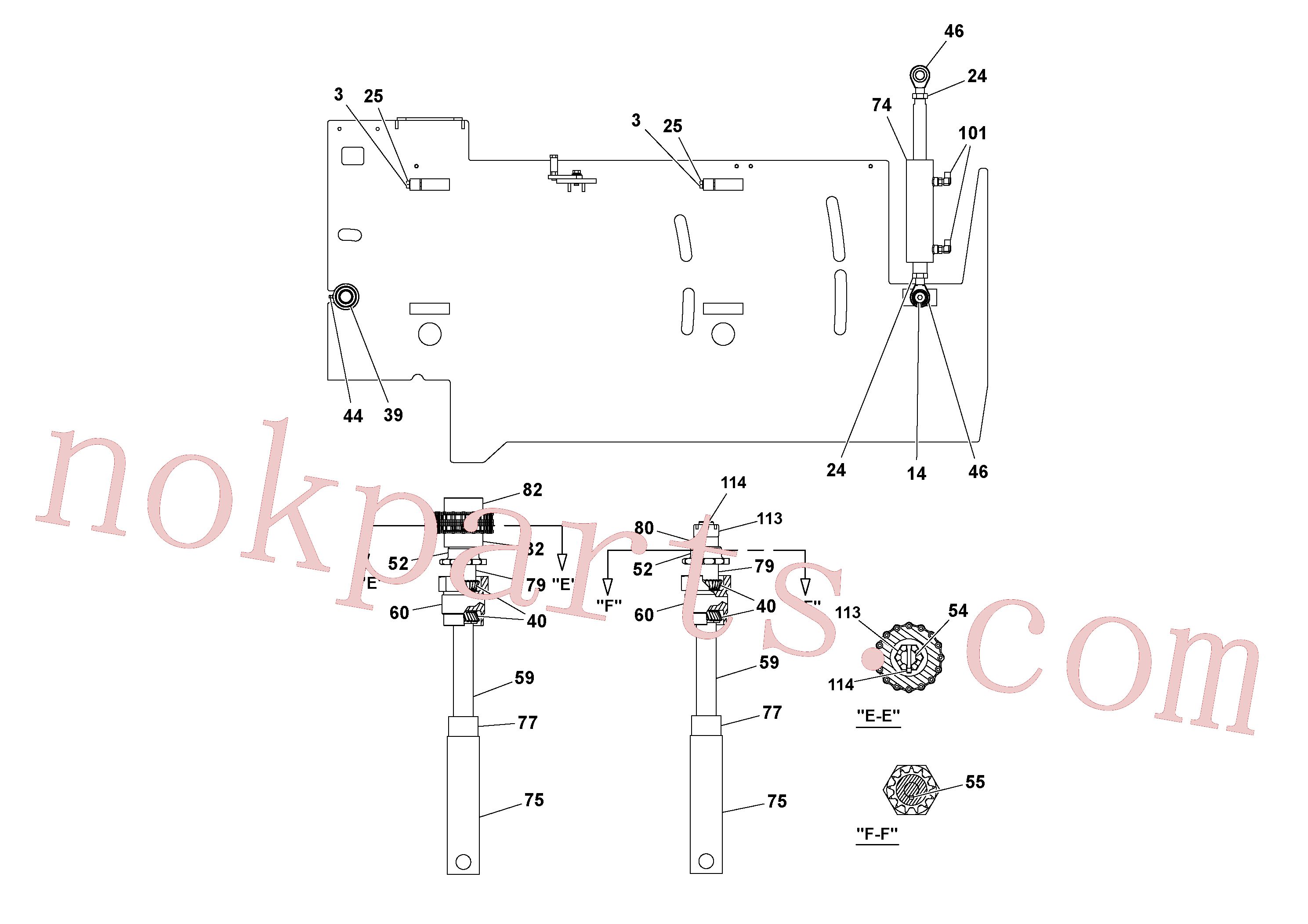 RM20313136 for Volvo 5' Extension Asssembly(1037004 assembly)