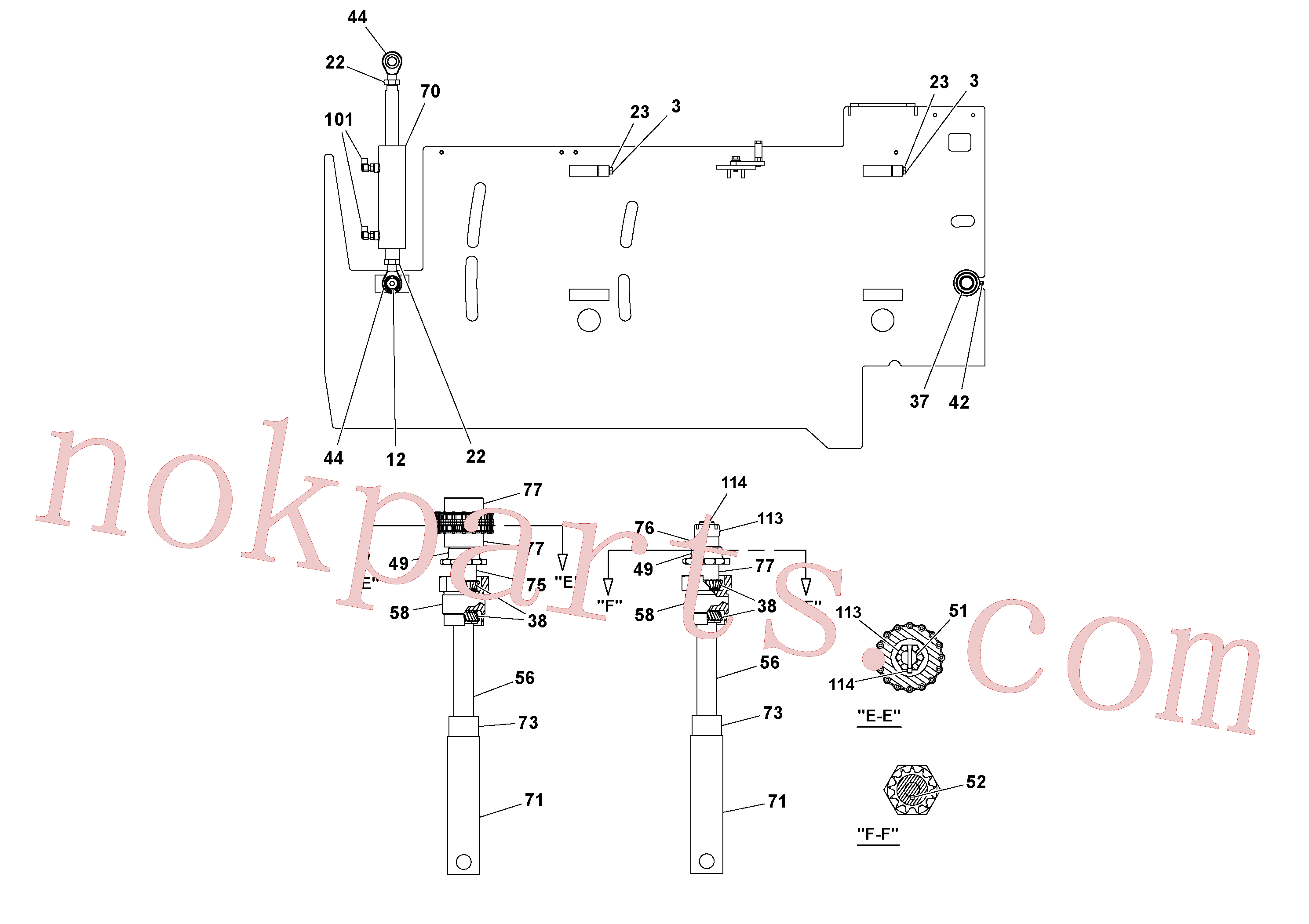 RM20313136 for Volvo 5' Extension Assembly(1037014 assembly)