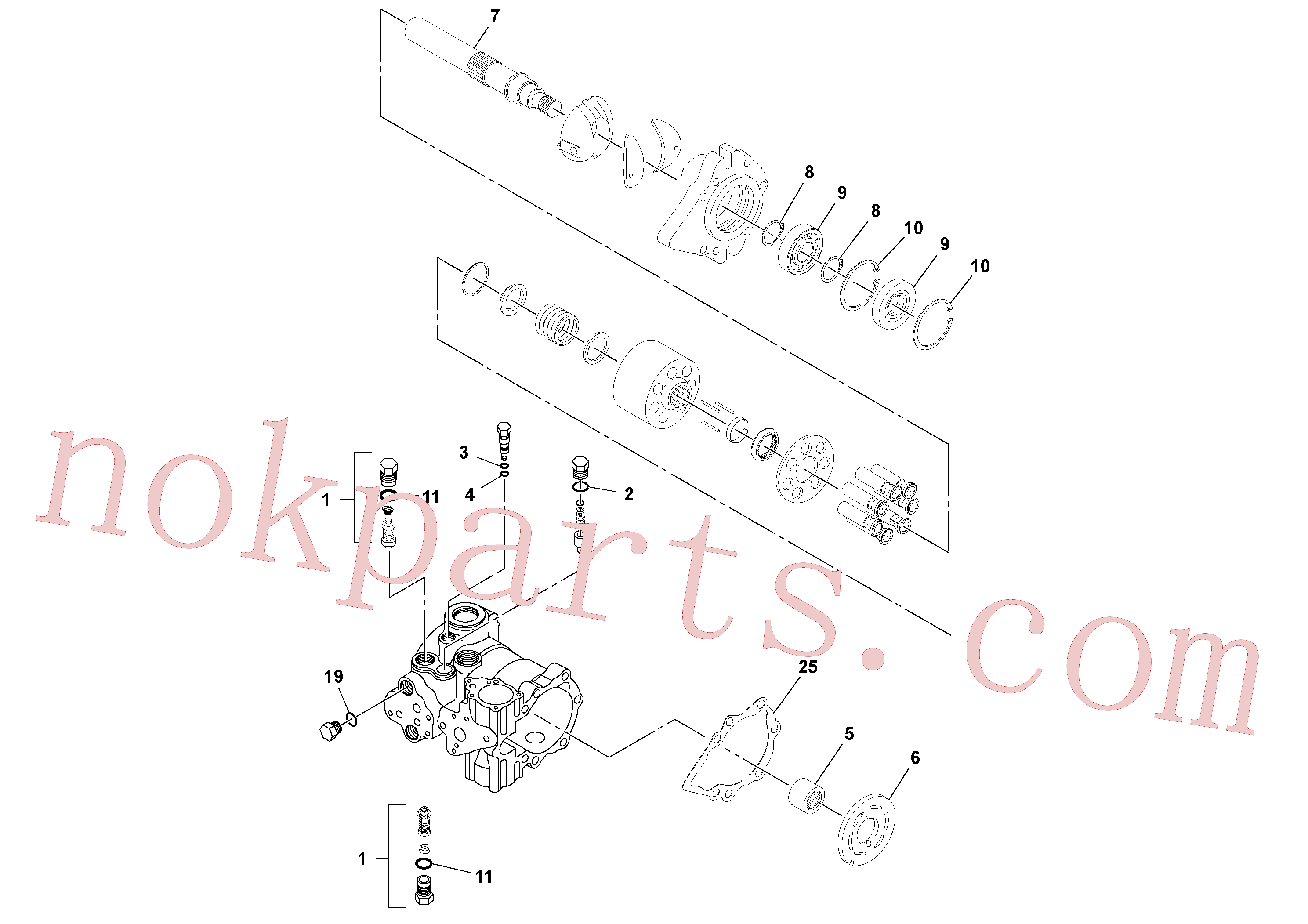 RM59785519 for Volvo Vibration Pump(1037327 assembly)