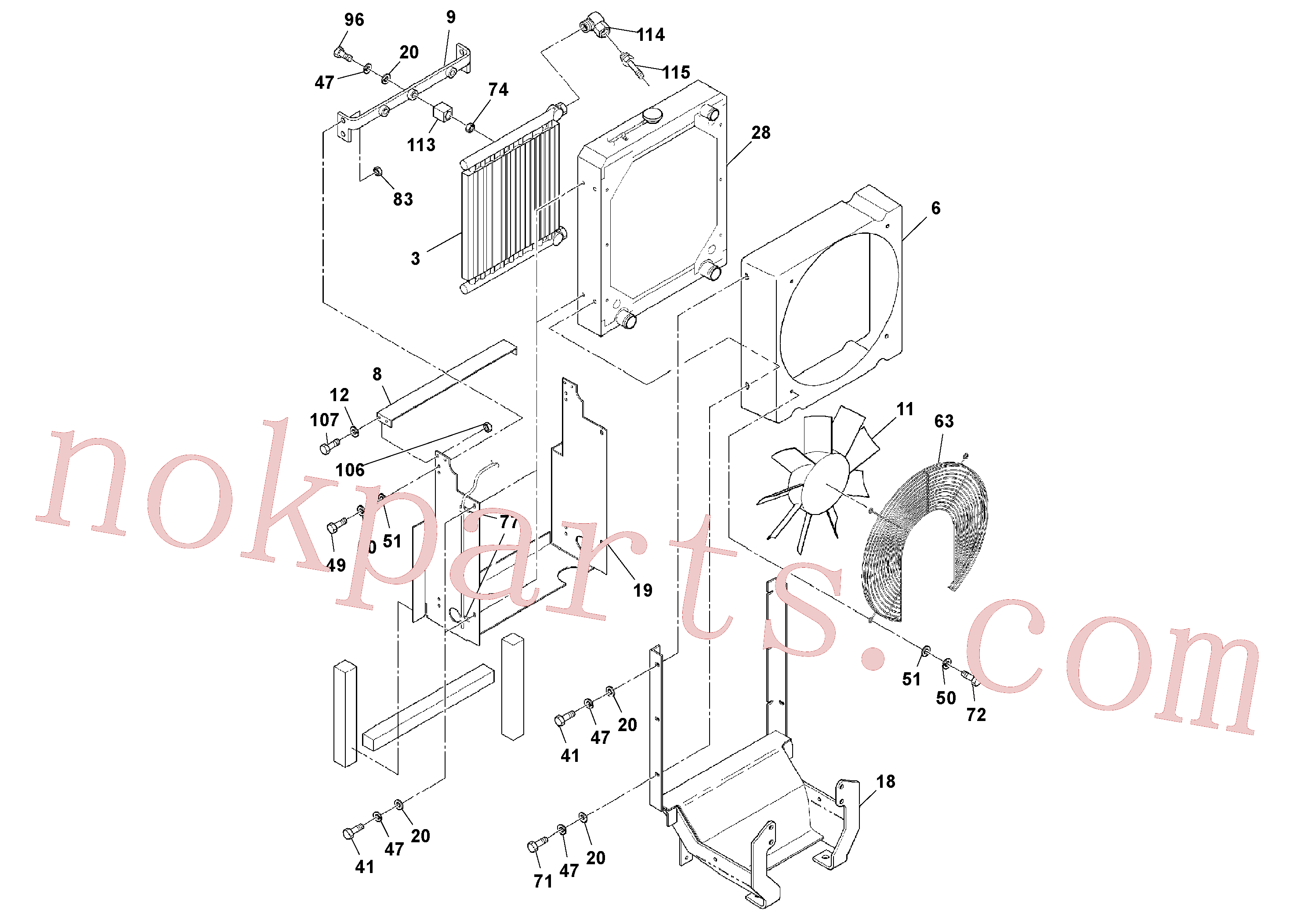 RM95451134 for Volvo Cummins Engine Assembly(1039169 assembly)