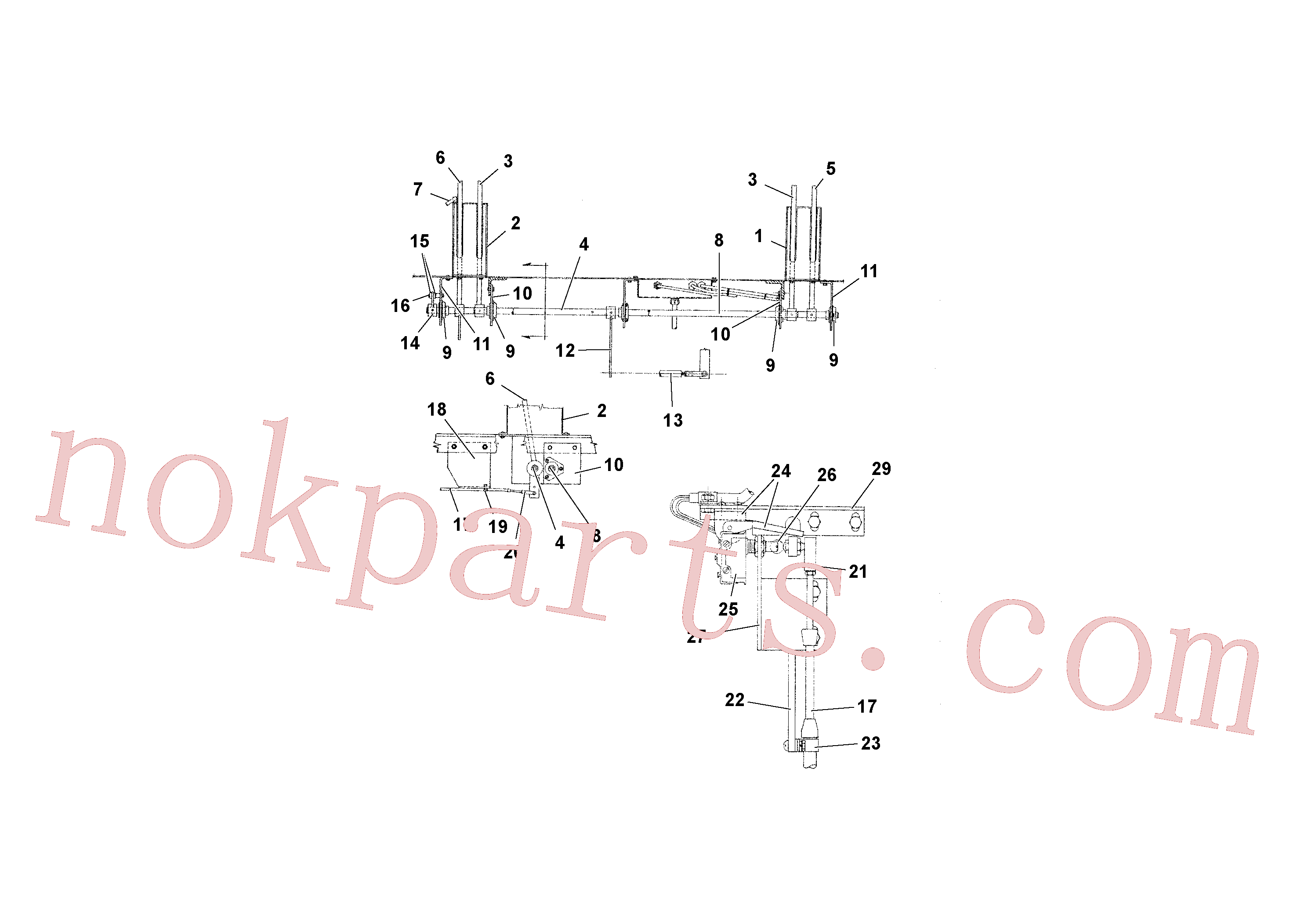 RM20310884 for Volvo Travel and Conveyor Controls(1039296 assembly)