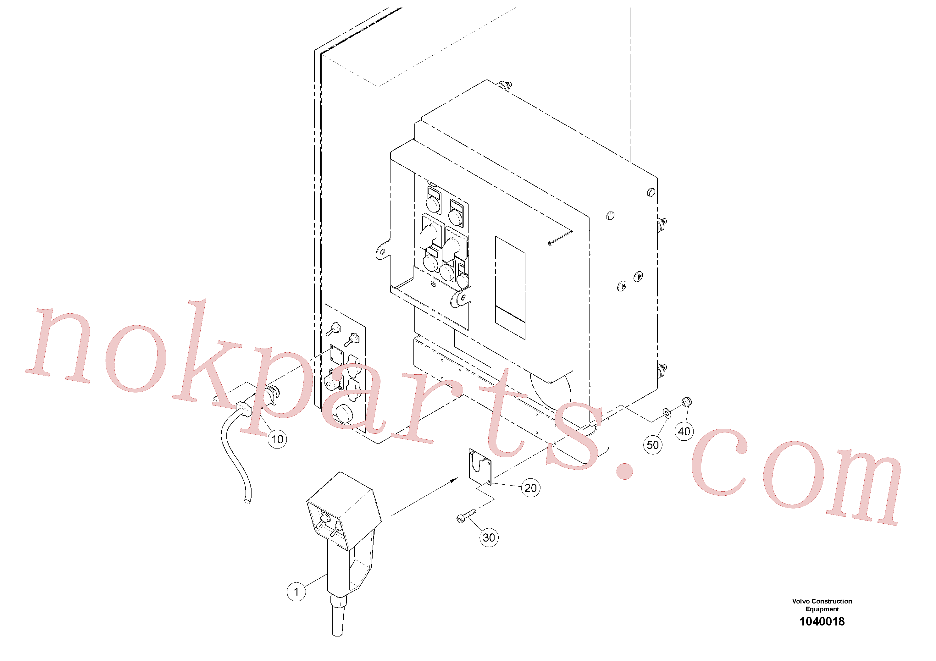 RM14082614 for Volvo Electric Height Adjustment(1040018 assembly)