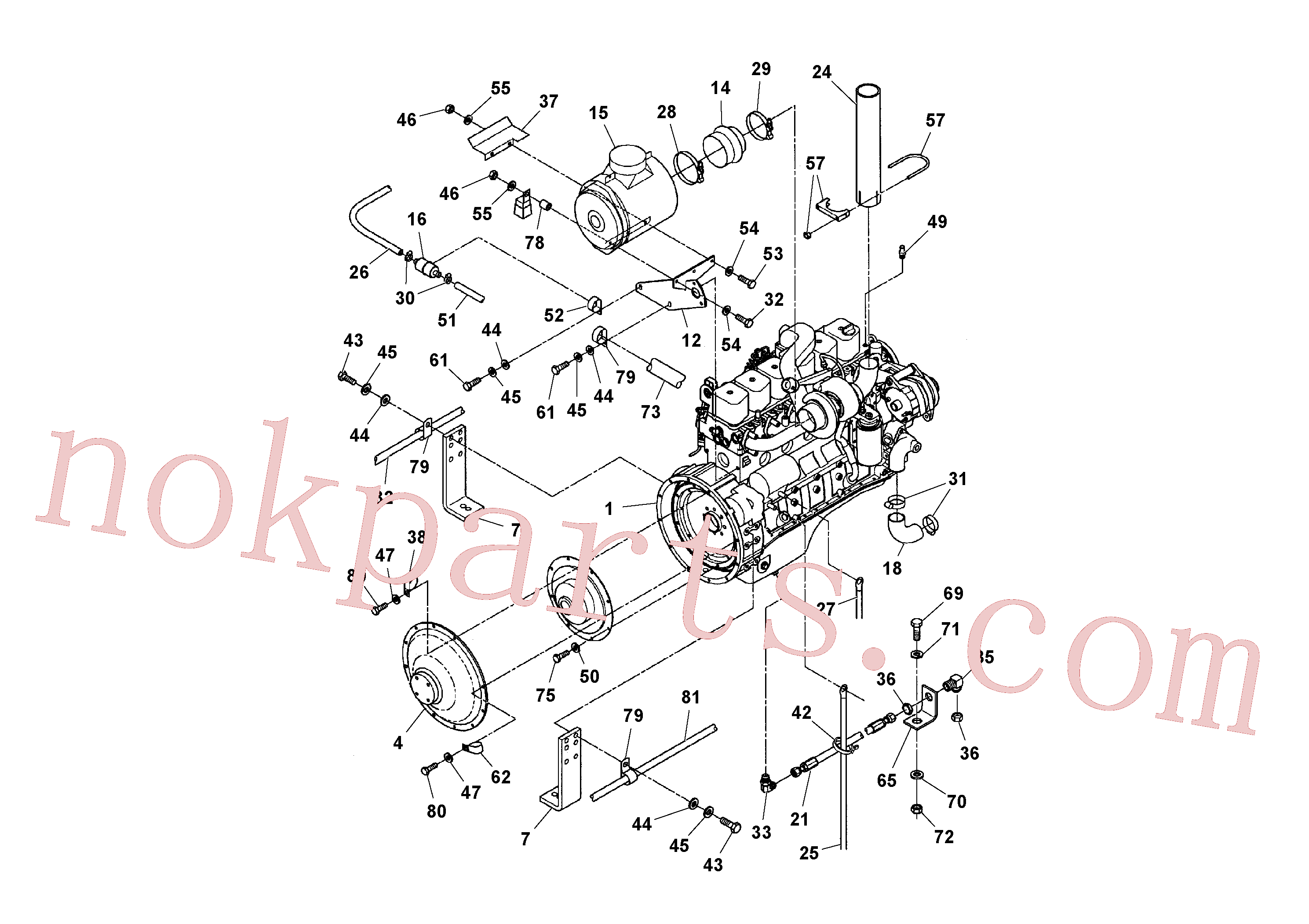 RM95451134 for Volvo Engine and Accessories(1041097 assembly)
