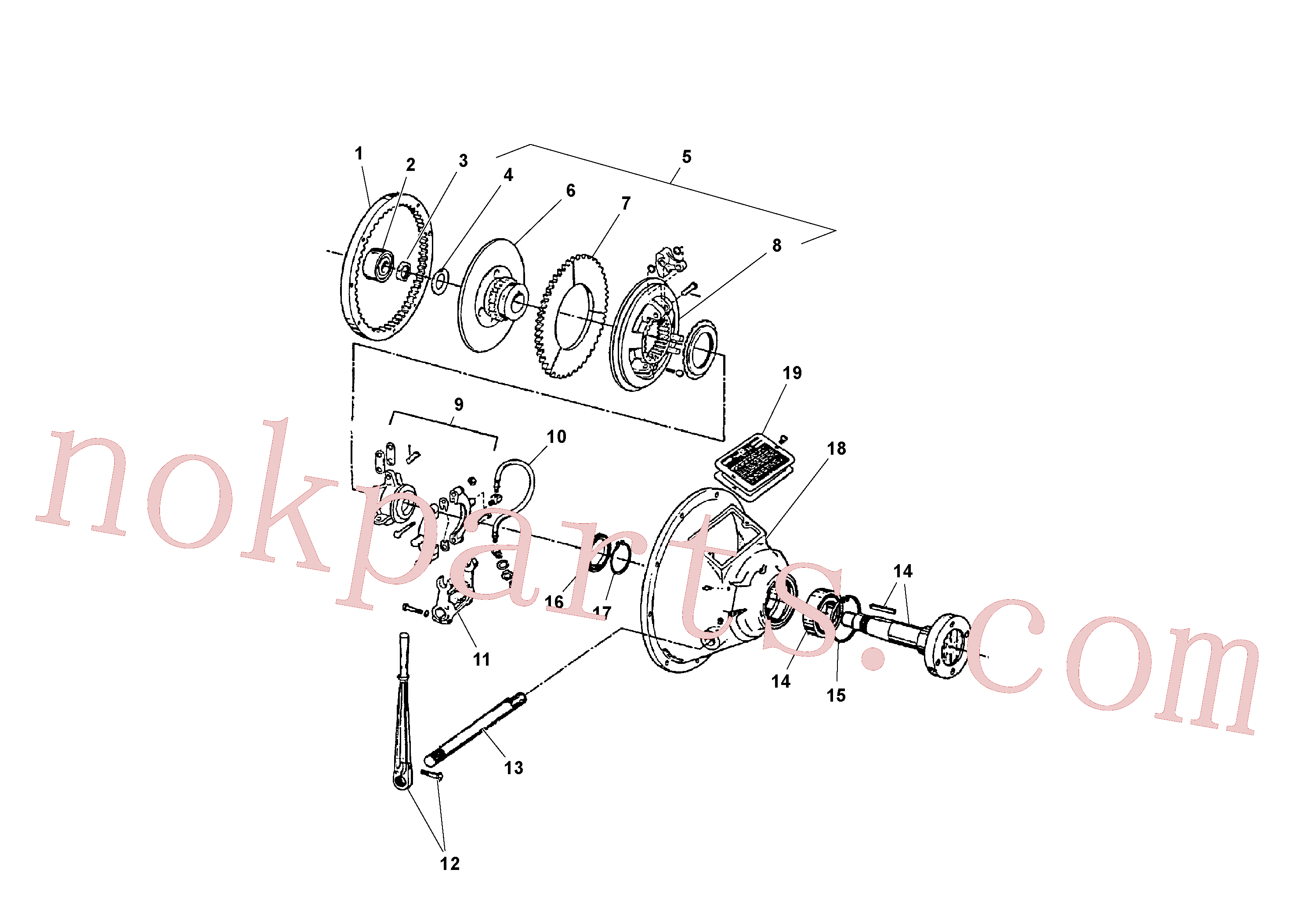 RM20923793 for Volvo Power take-off(1041100 assembly)