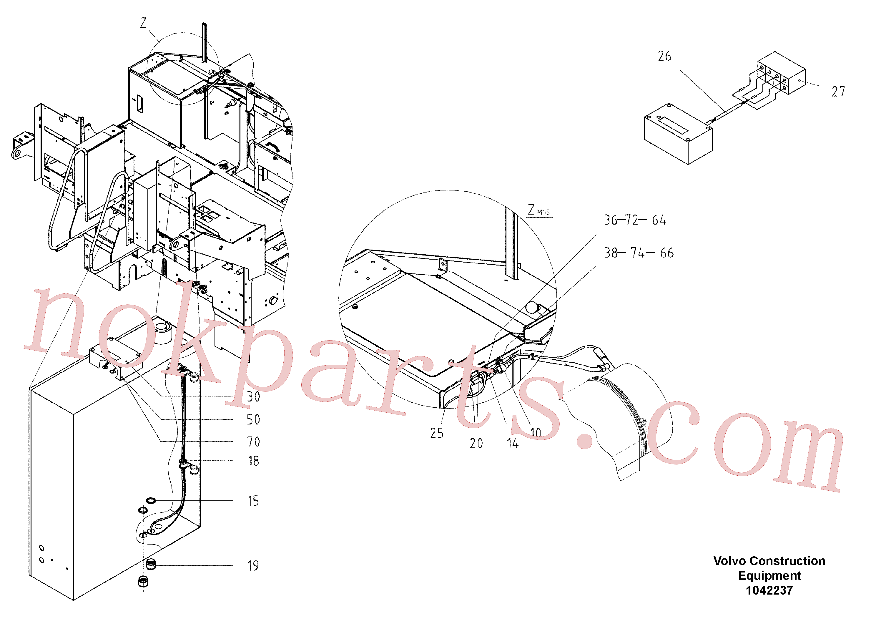 RM96714241 for Volvo Electric for Diesel Exhaust Filter(1042237 assembly)