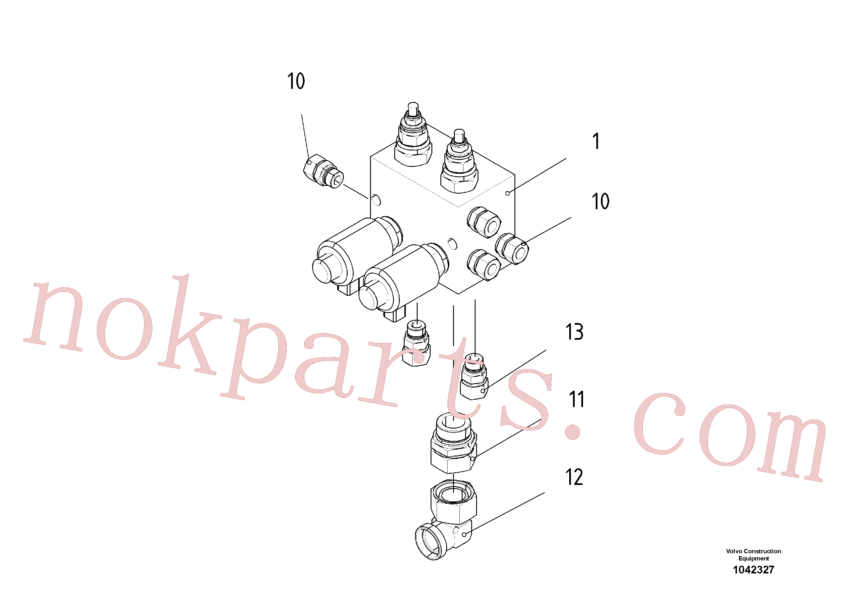 RM14280432 for Volvo Control block(1042327 assembly)