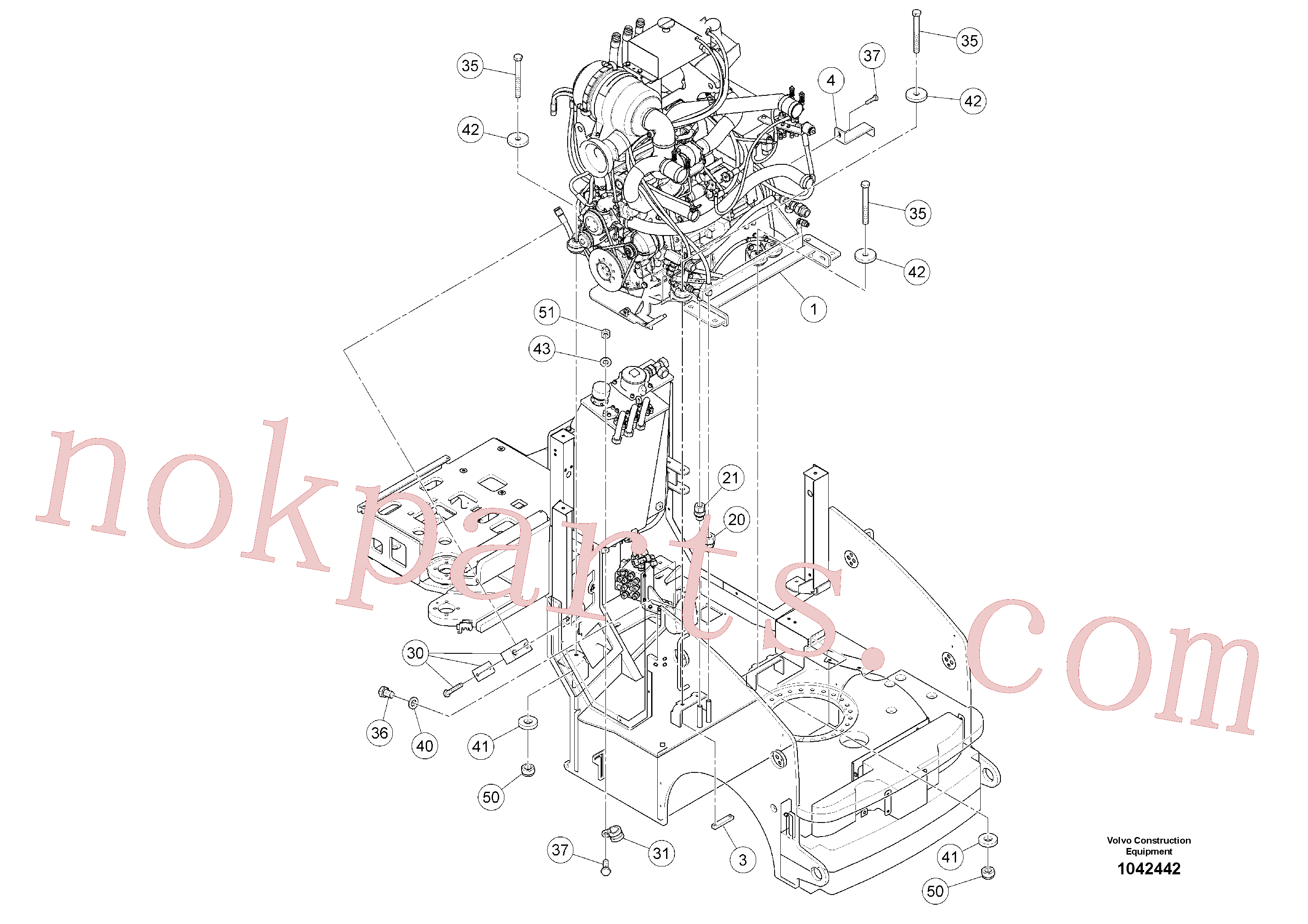 RM96721519 for Volvo Drive Unit(1042442 assembly)