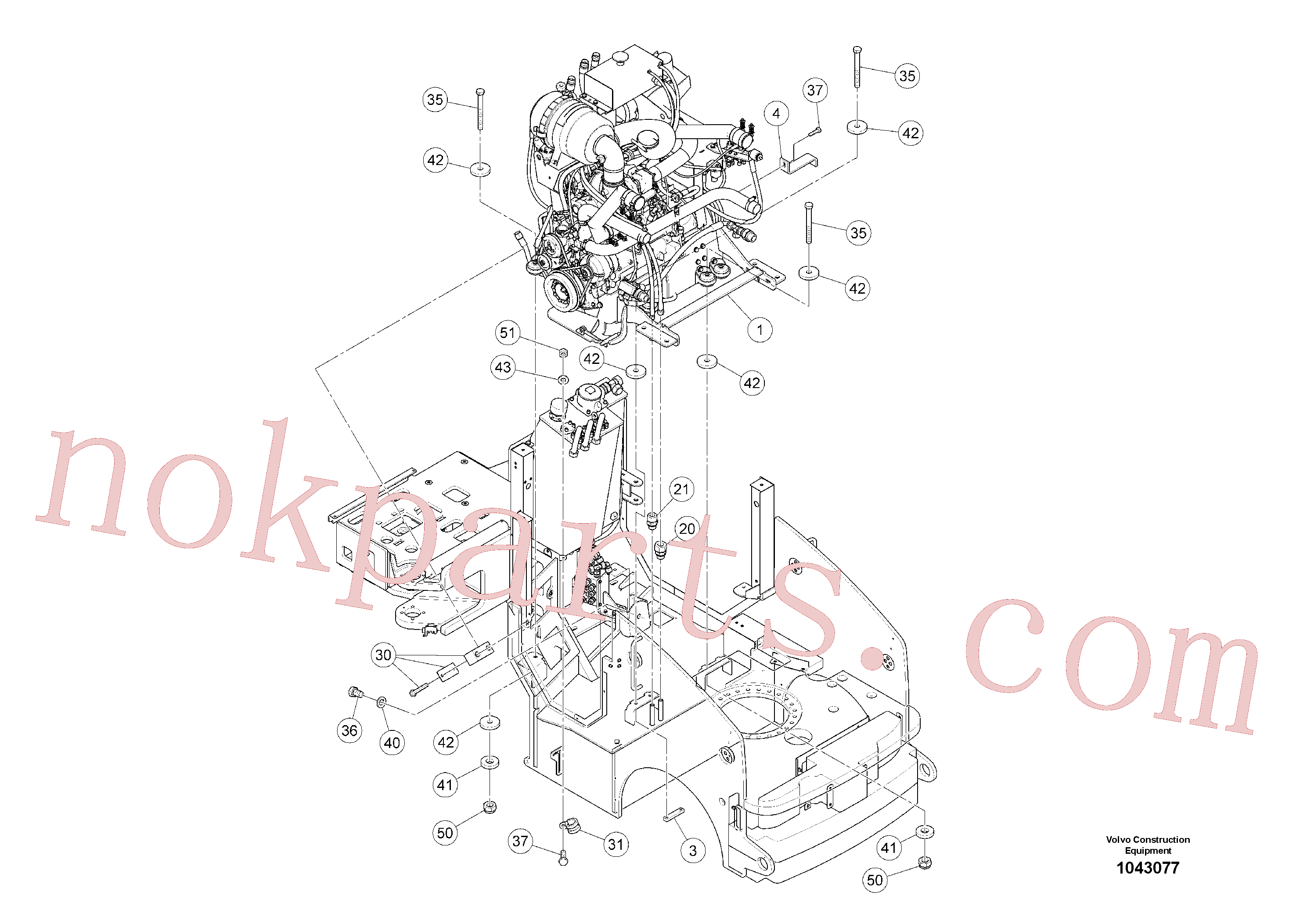 RM96721519 for Volvo Drive Unit(1043077 assembly)