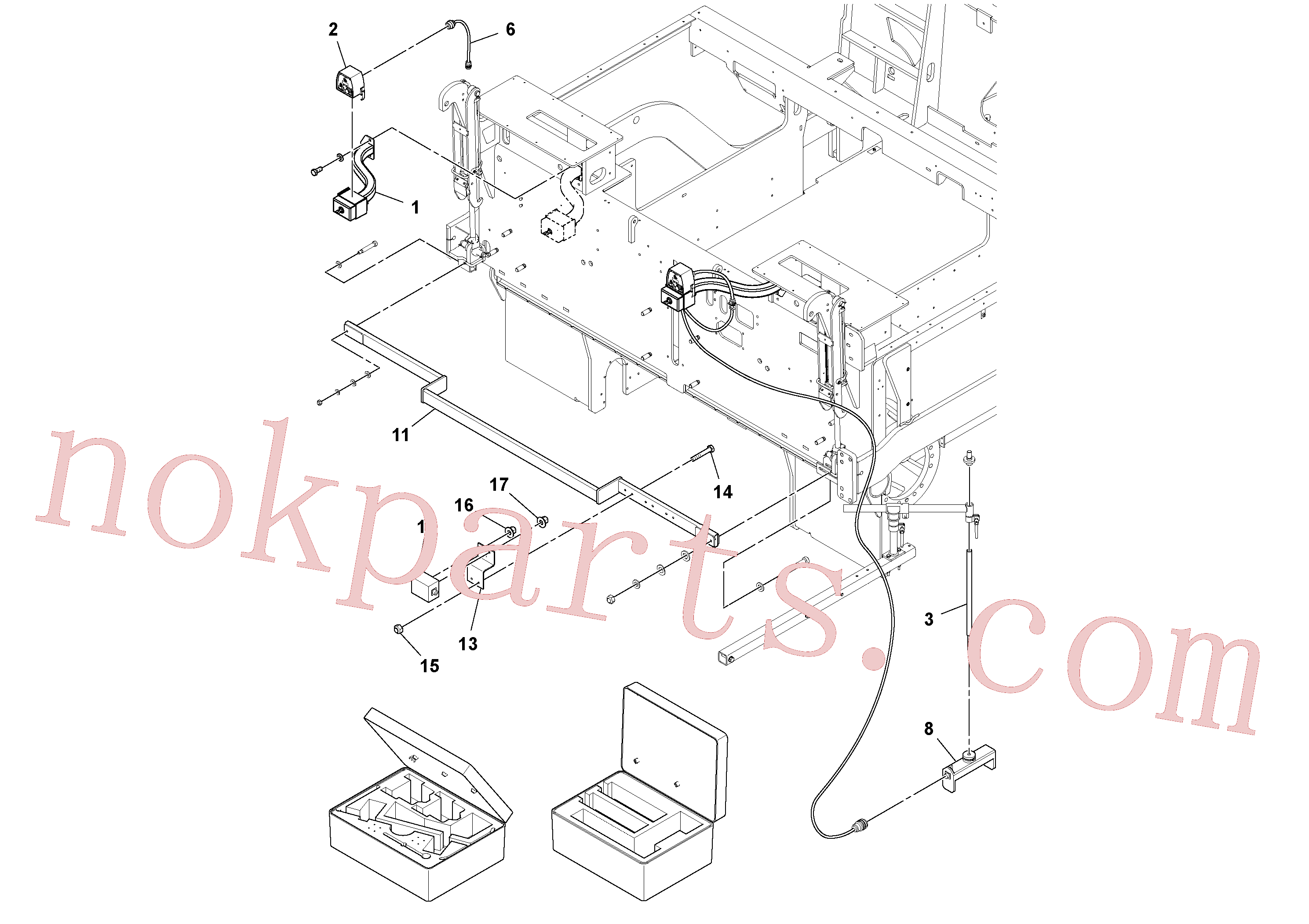 RM43938976 for Volvo Blaw Kontrol Installation(1043987 assembly)