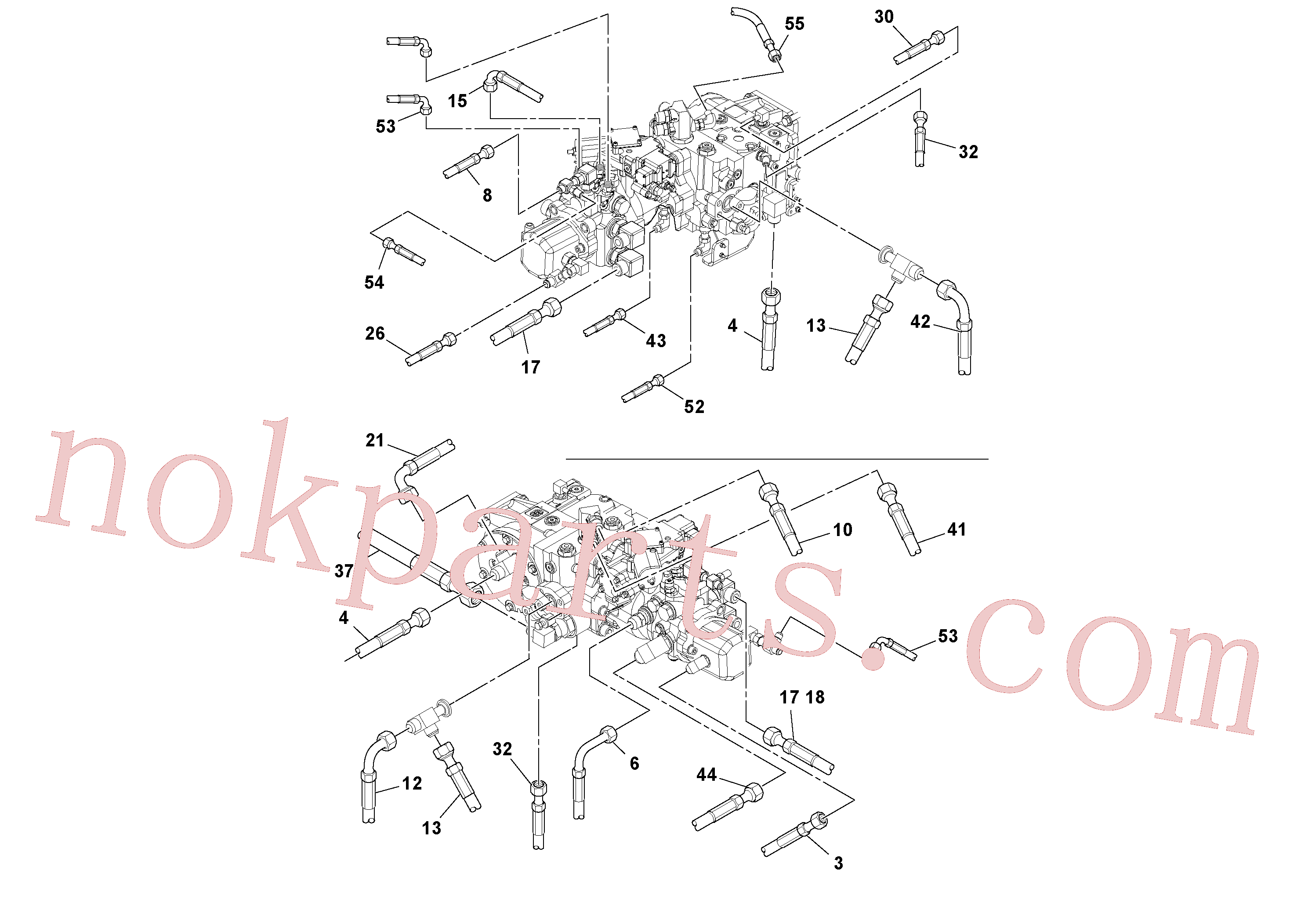 RM13207873 for Volvo Hoses Installation(1045243 assembly)