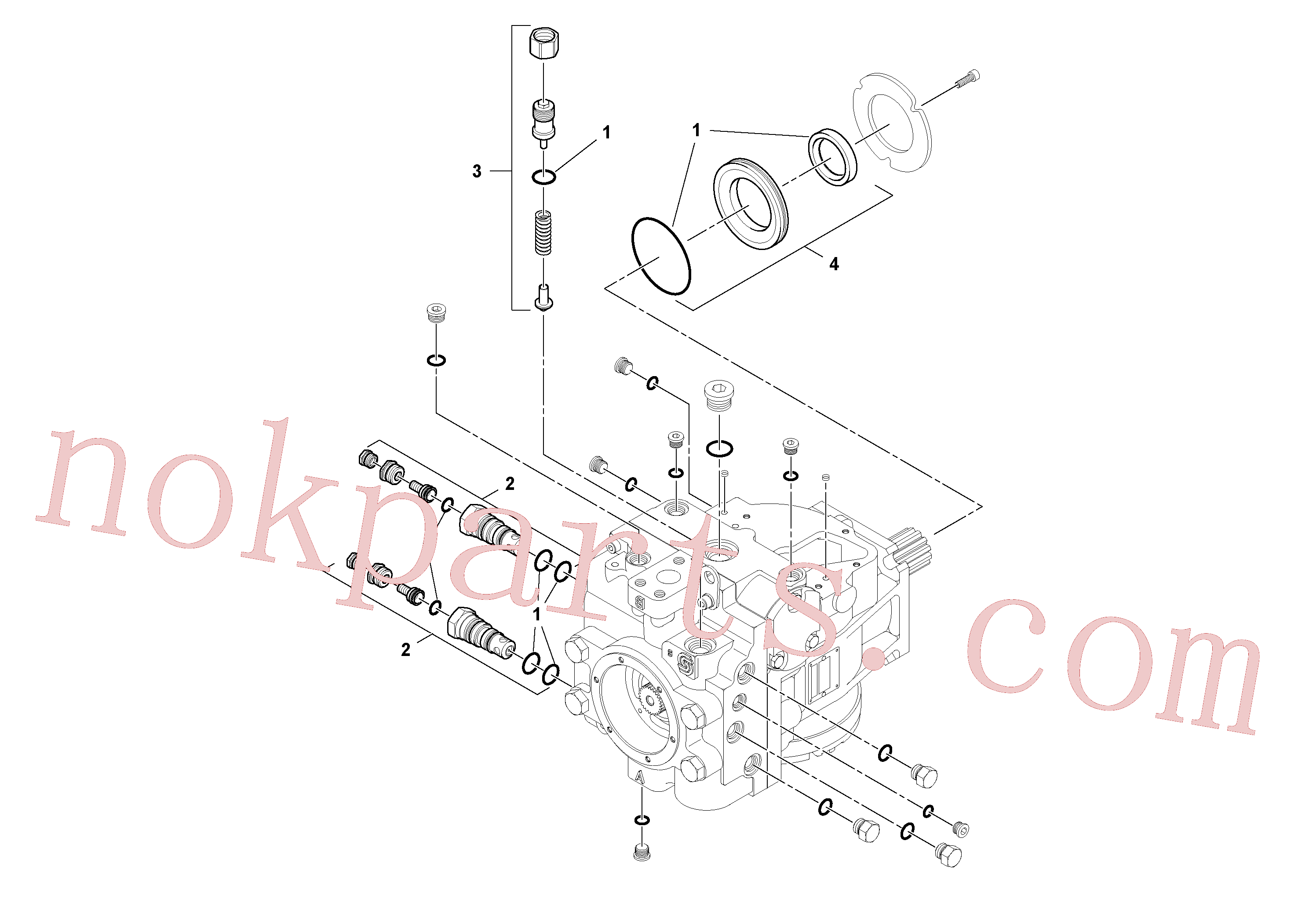 RM58921495 for Volvo Propulsion Pump(1045417 assembly)