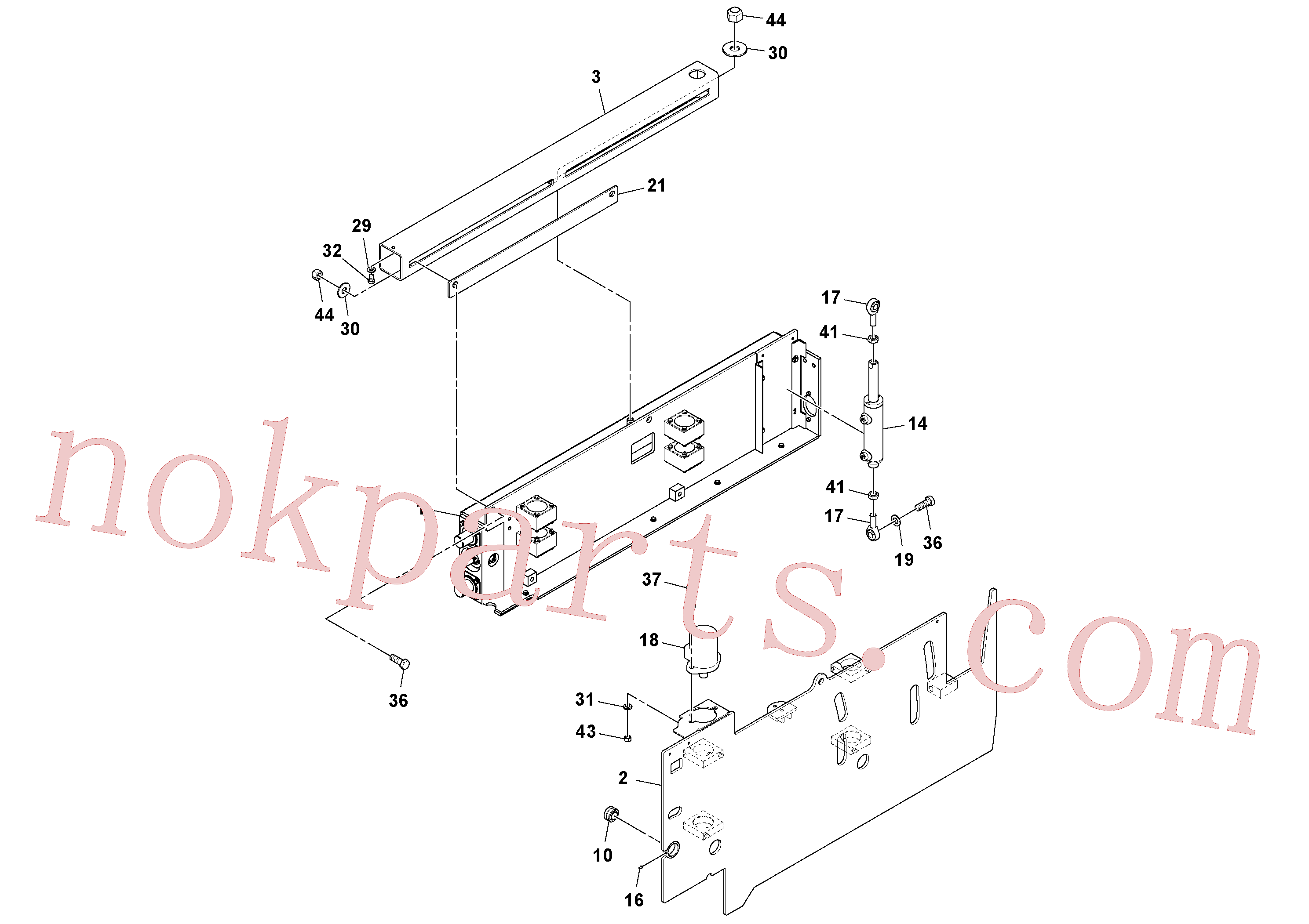 RM20328084 for Volvo Extension Assembly(1045975 assembly)