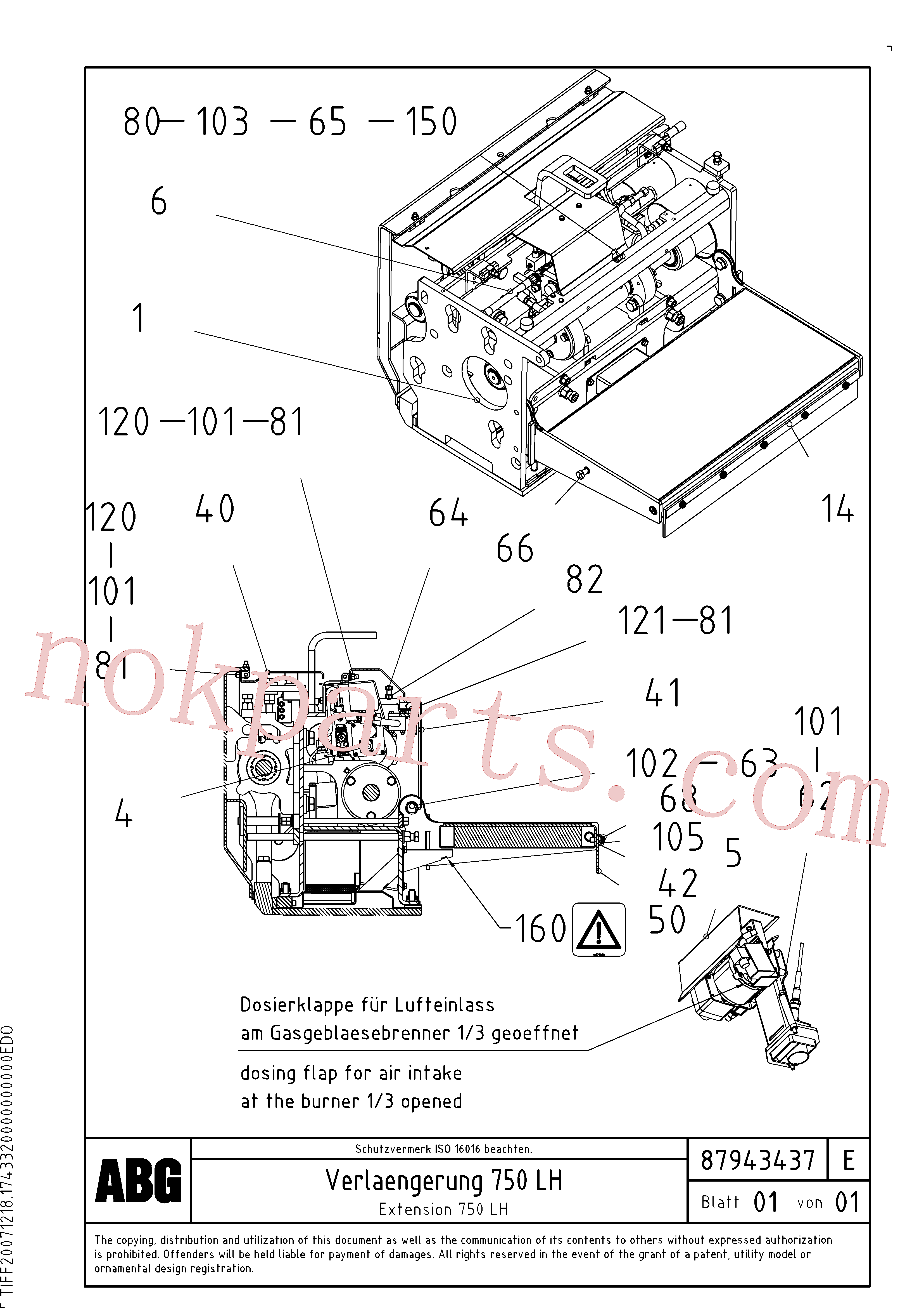 RM80734320 for Volvo Extension set(1047981 assembly)