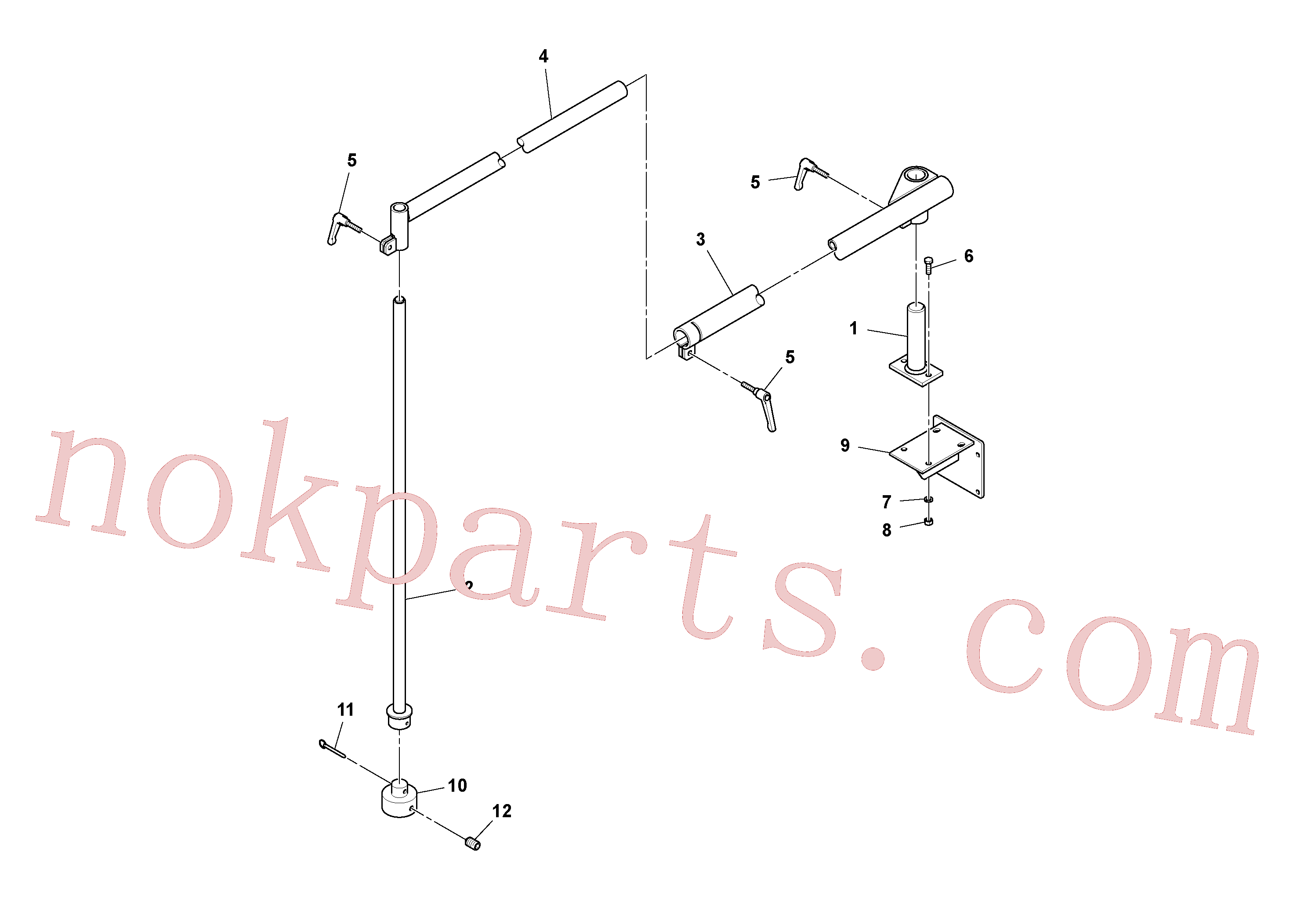 RM43869312 for Volvo Sonic Grade Mounting Assembly(1048435 assembly)