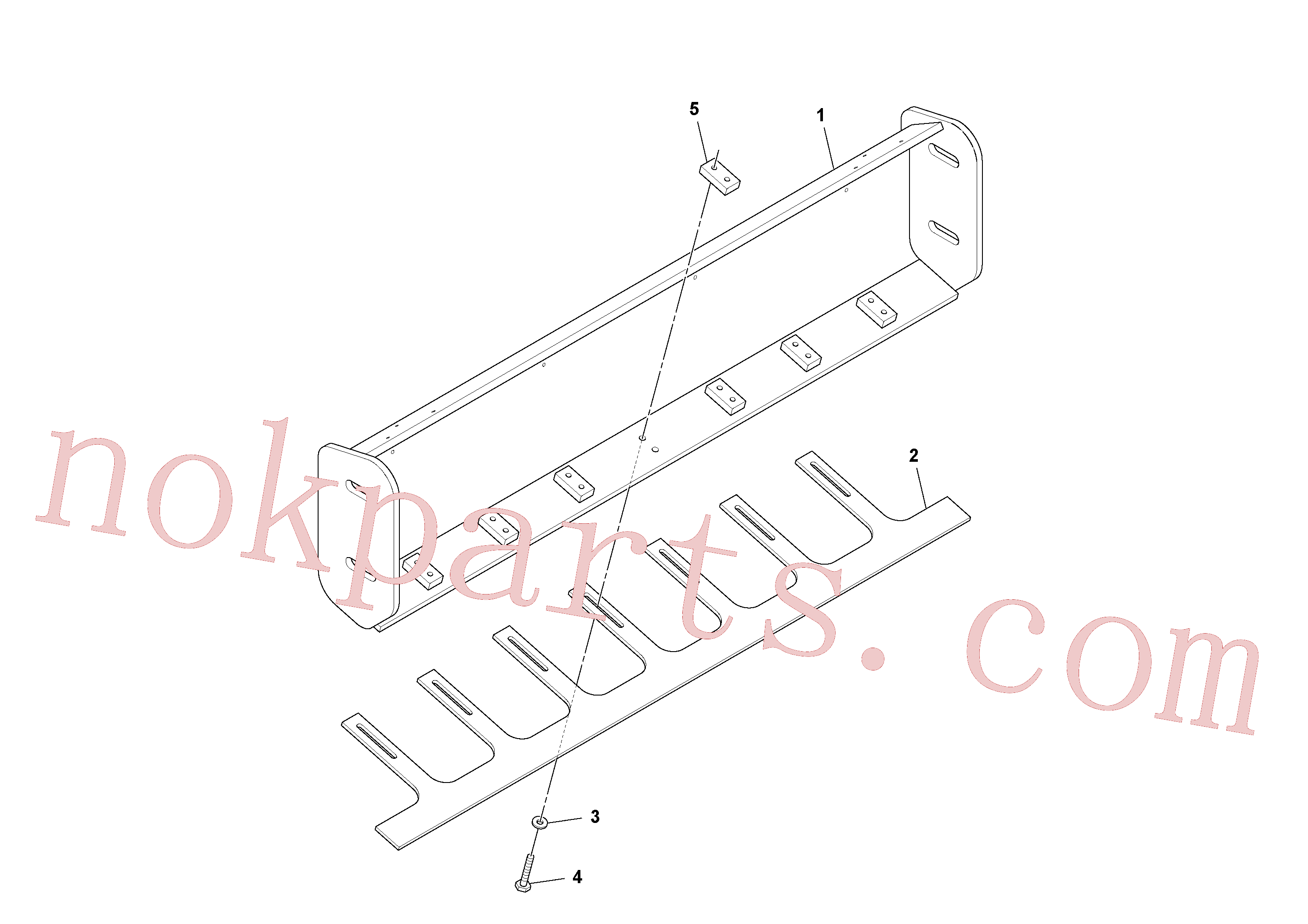 RM96721873 for Volvo Eu Weighted Scraper Installation, Premium Scraper Installation(1051328 assembly)