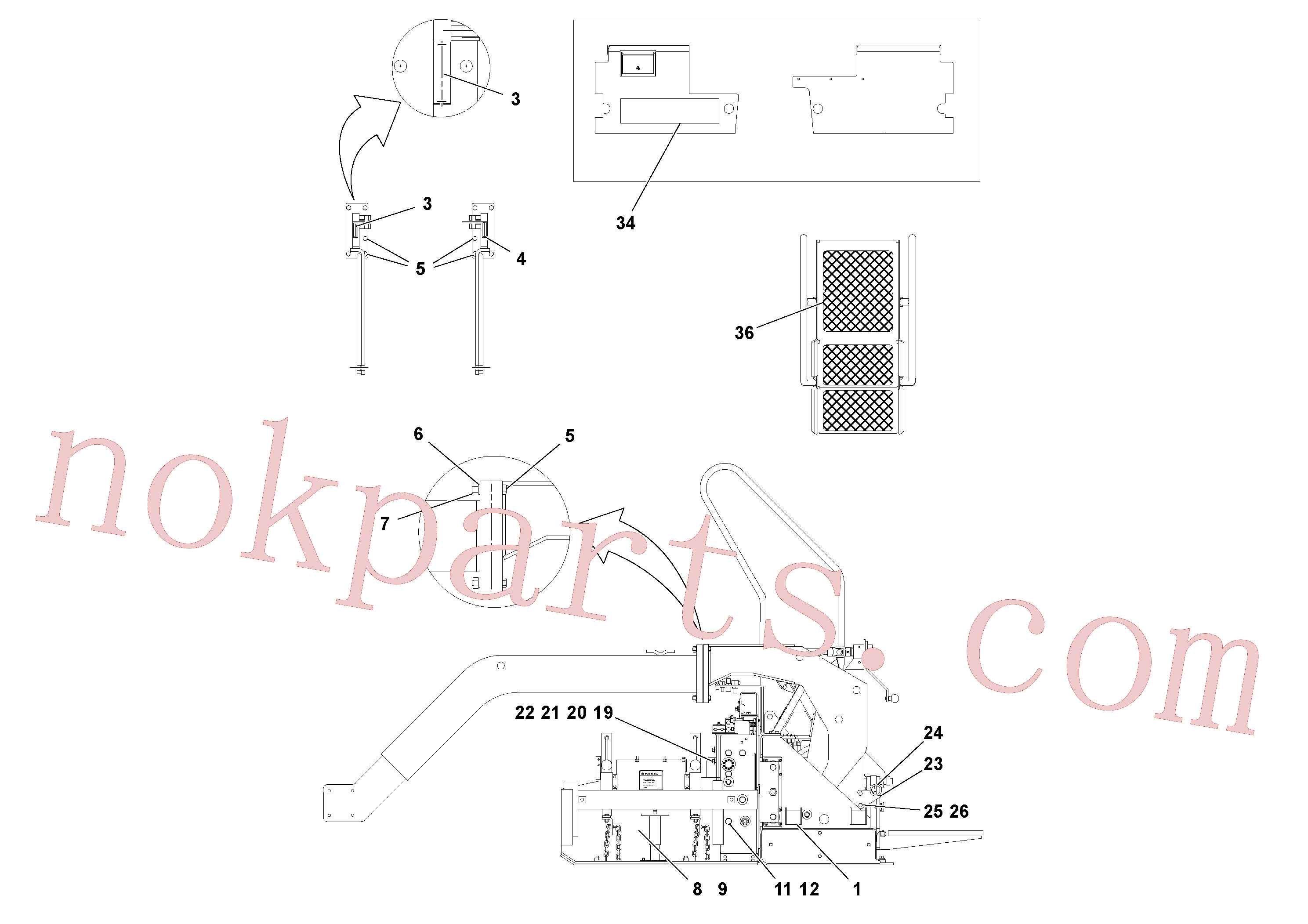 RM95995056 for Volvo Screed Assembly(1051880 assembly)