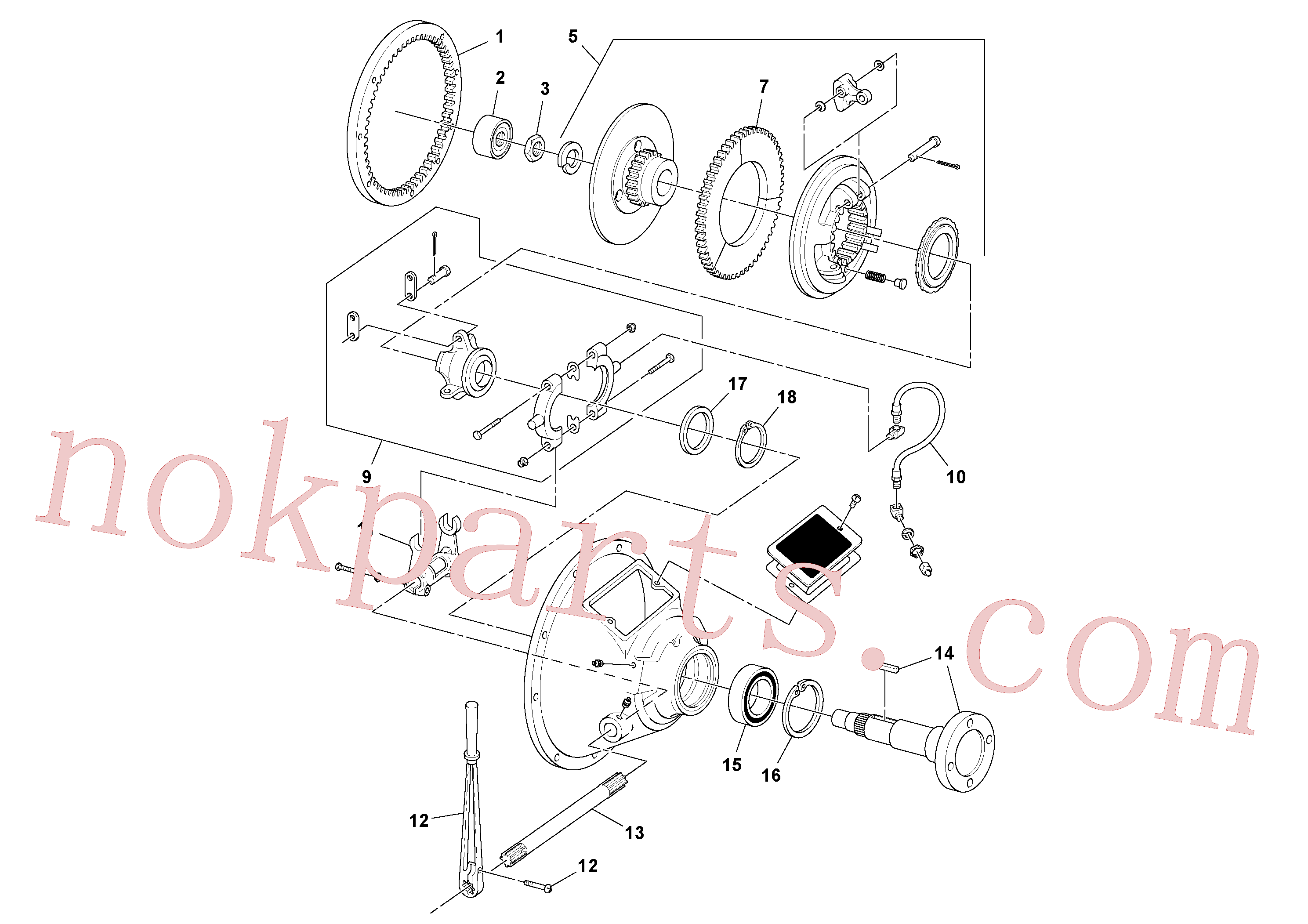RM20923793 for Volvo Power take-off(1052036 assembly)