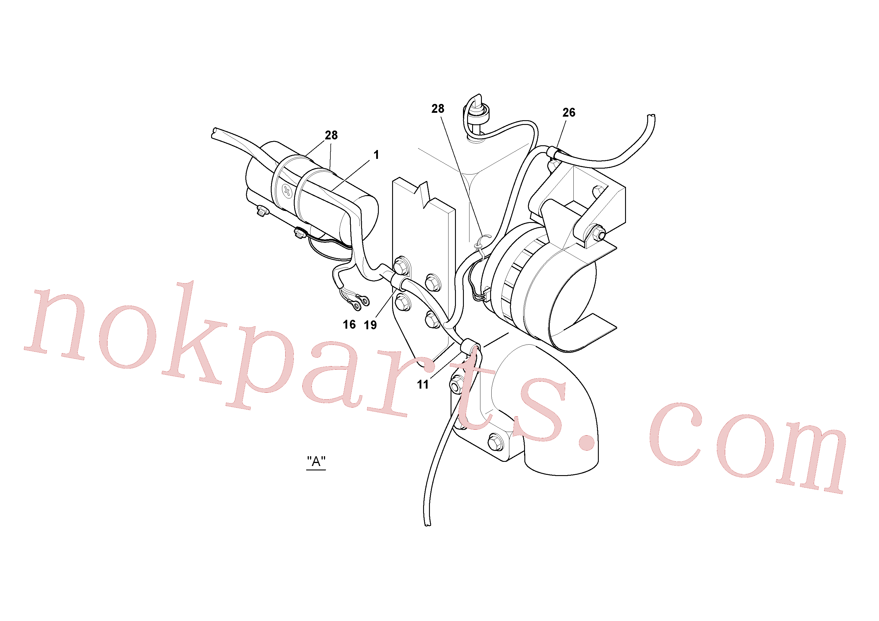 RM59117317 for Volvo Cable Harness Installation(1052645 assembly)