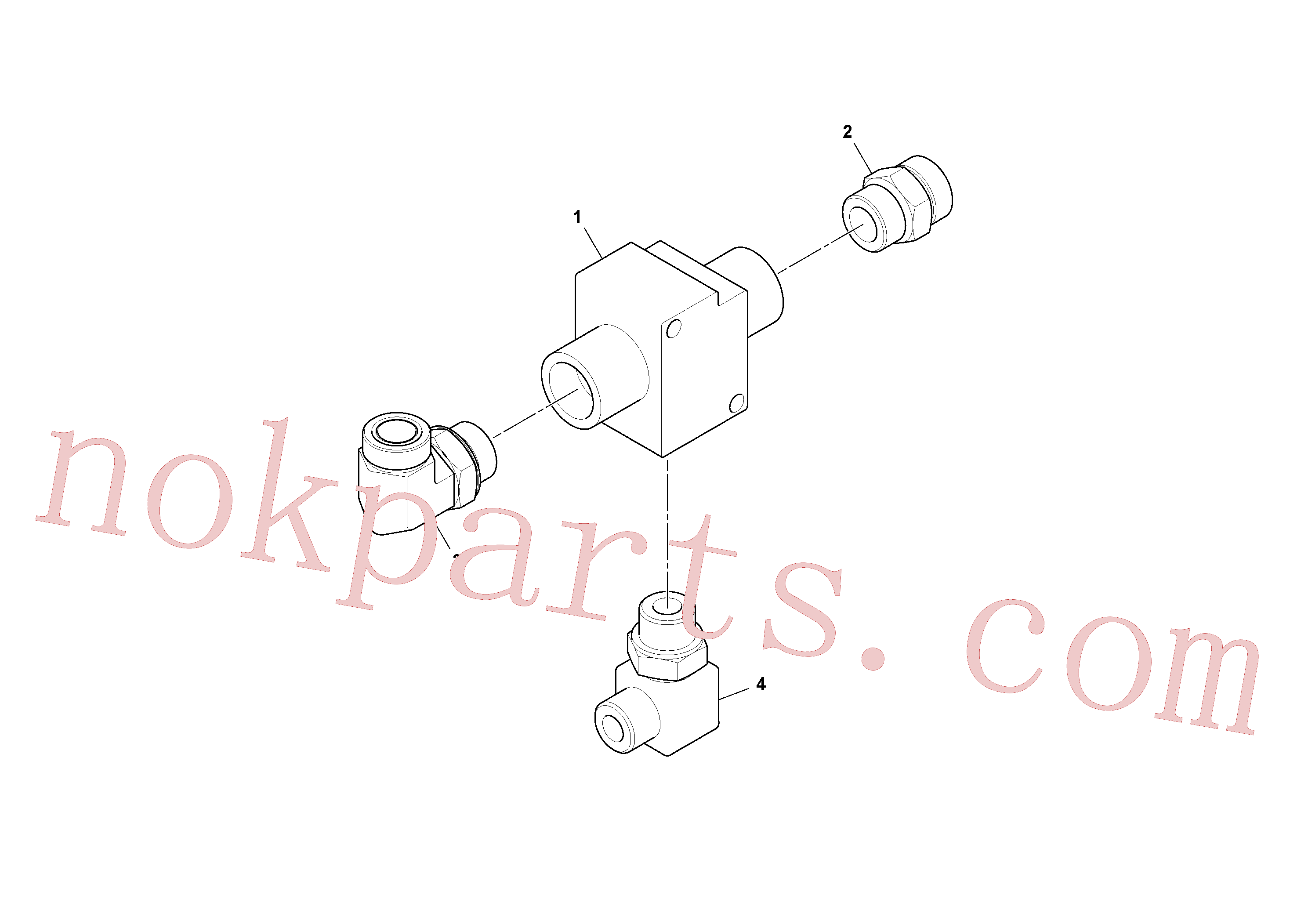 RM13205364 for Volvo Thermal Bypass Valve Installation(1052962 assembly)