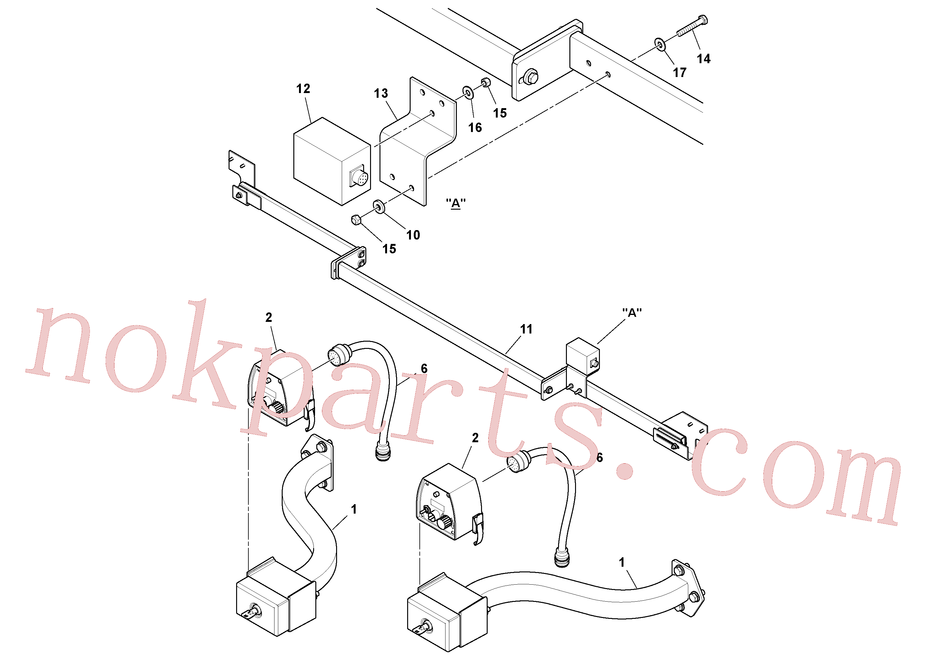 RM13427307 for Volvo Blaw Kontrol Installation(1054587 assembly)
