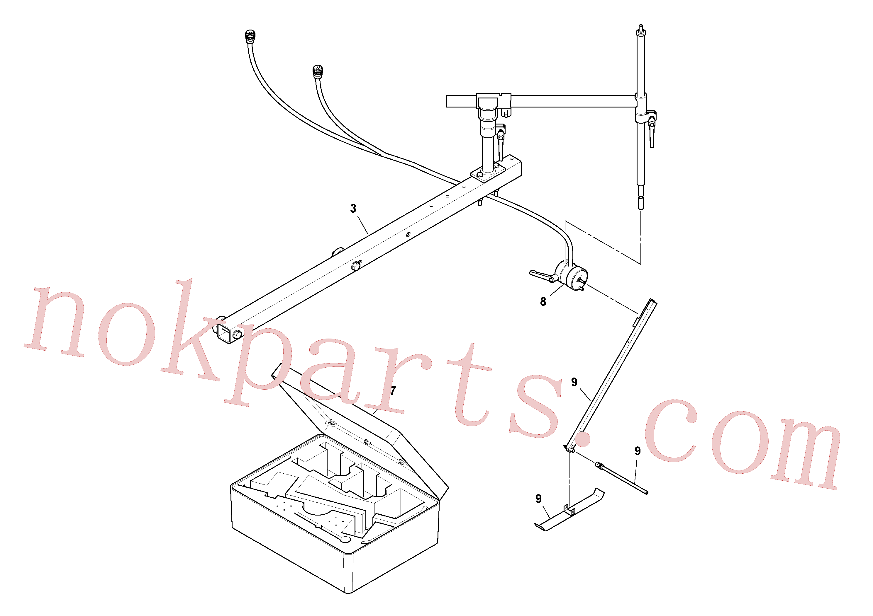 RM43938976 for Volvo Blaw Kontrol Installation(1054588 assembly)