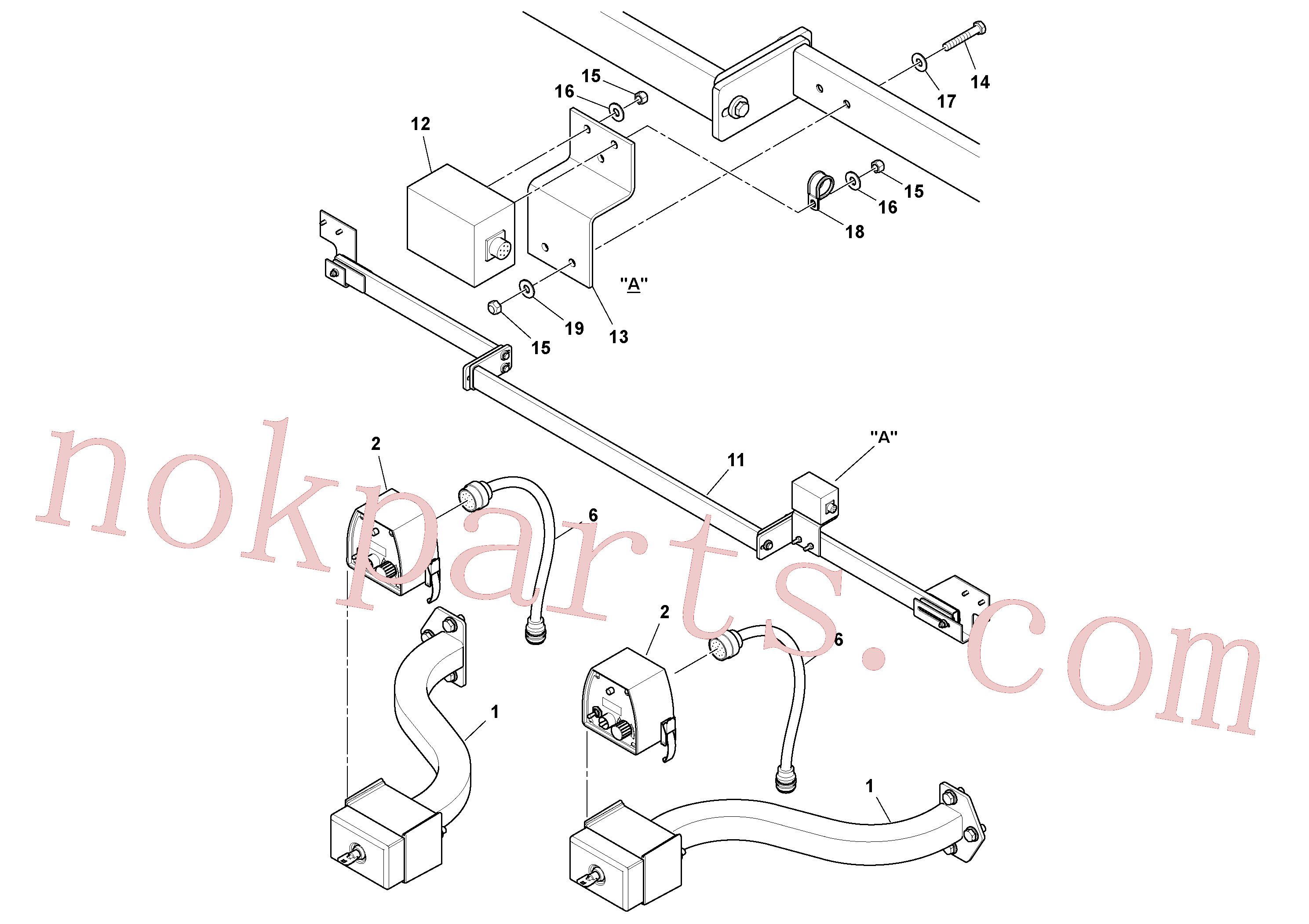 RM13427307 for Volvo Blaw Kontrol Installation(1054589 assembly)
