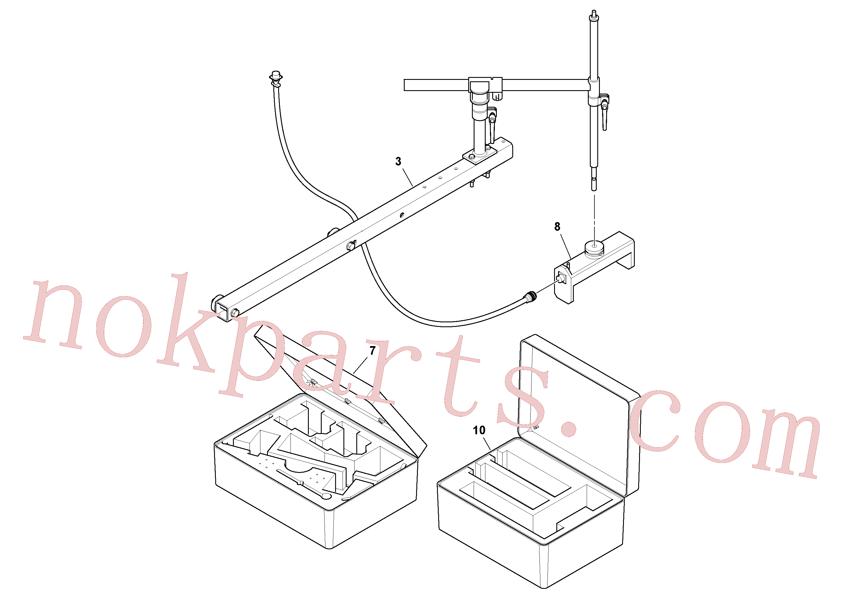 RM43938976 for Volvo Blaw Kontrol Installation(1054590 assembly)