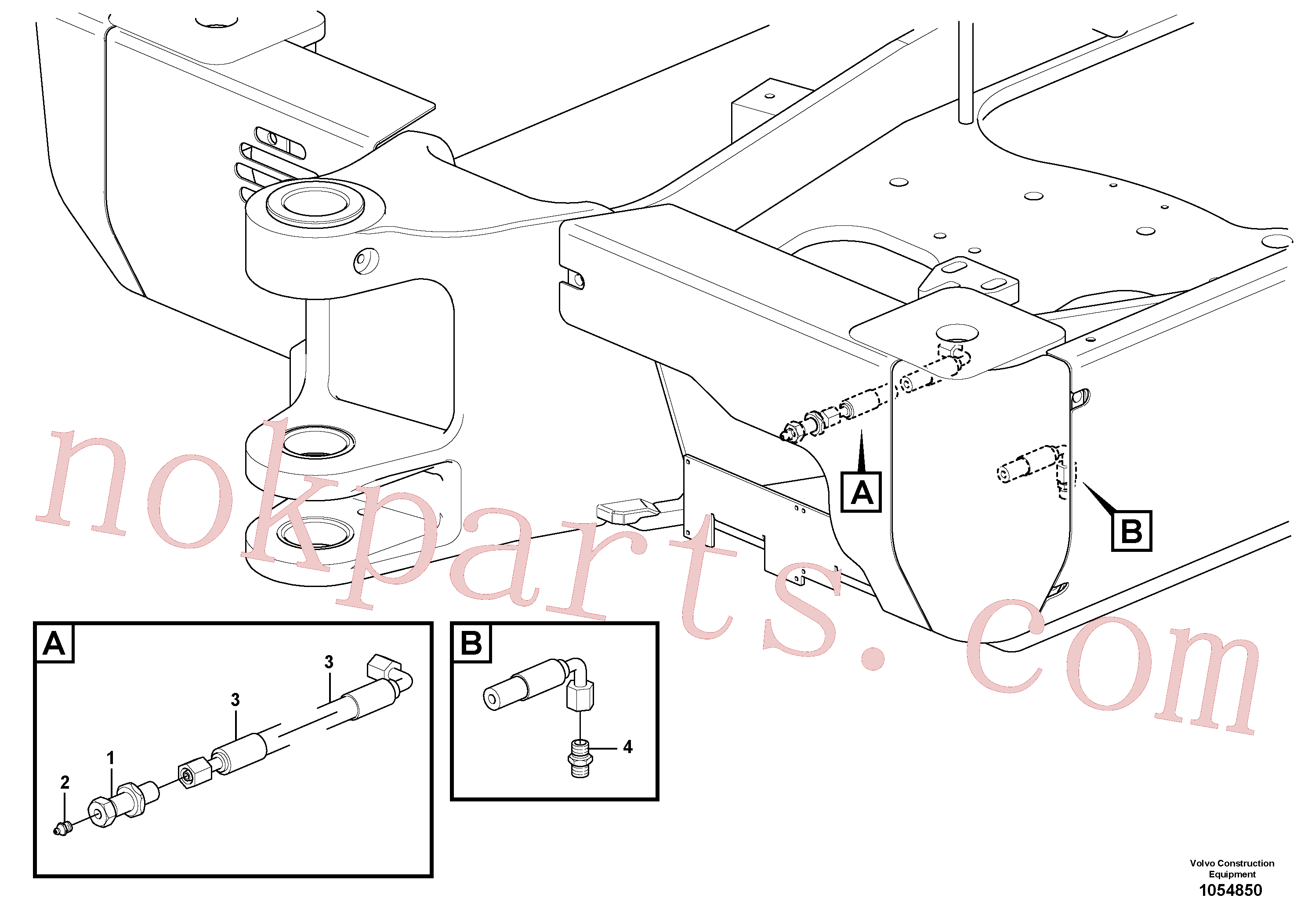 VOE11802456 for Volvo Lubrication(1054850 assembly)