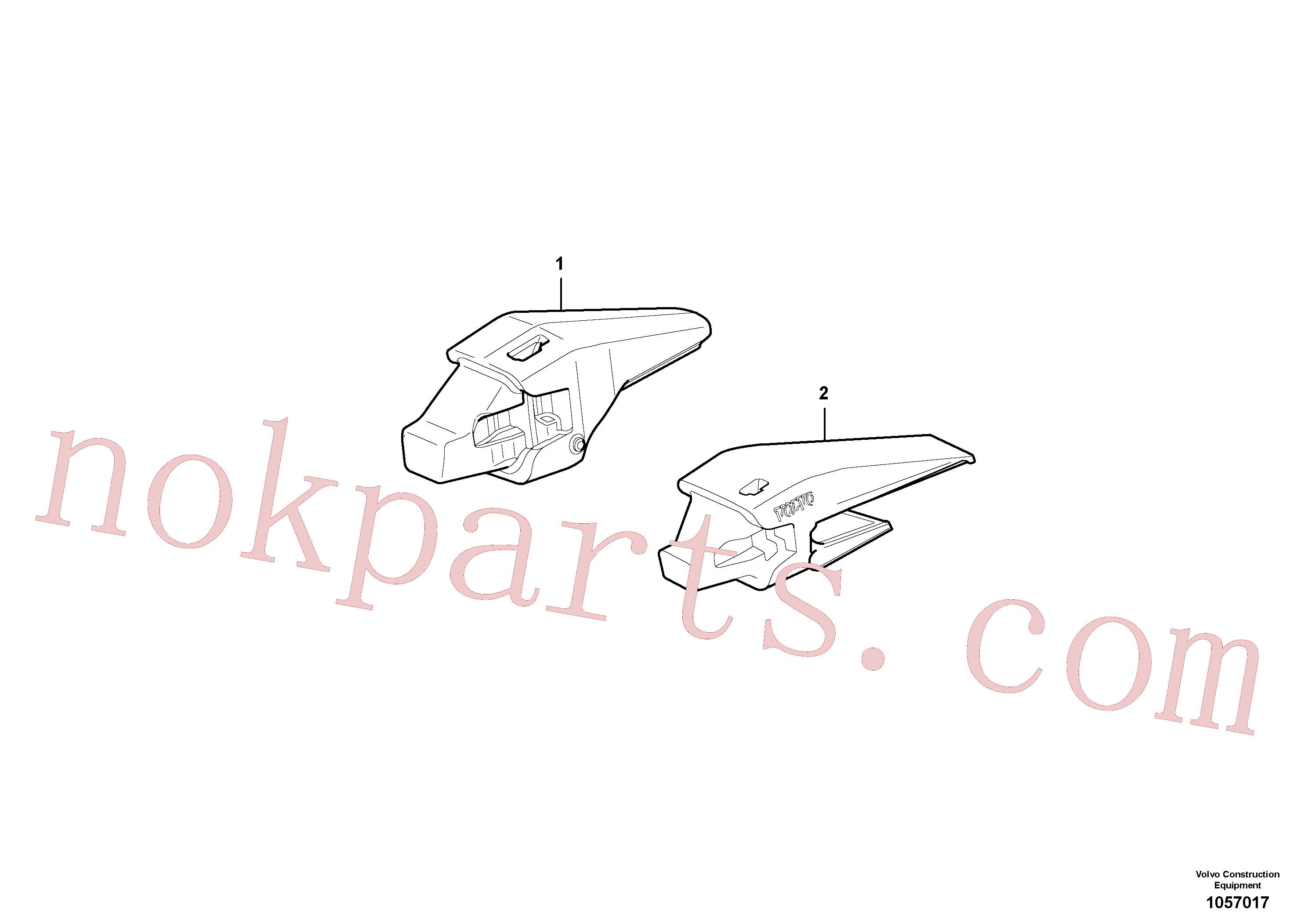VOE11417108 for Volvo Adapter kit(1057017 assembly)